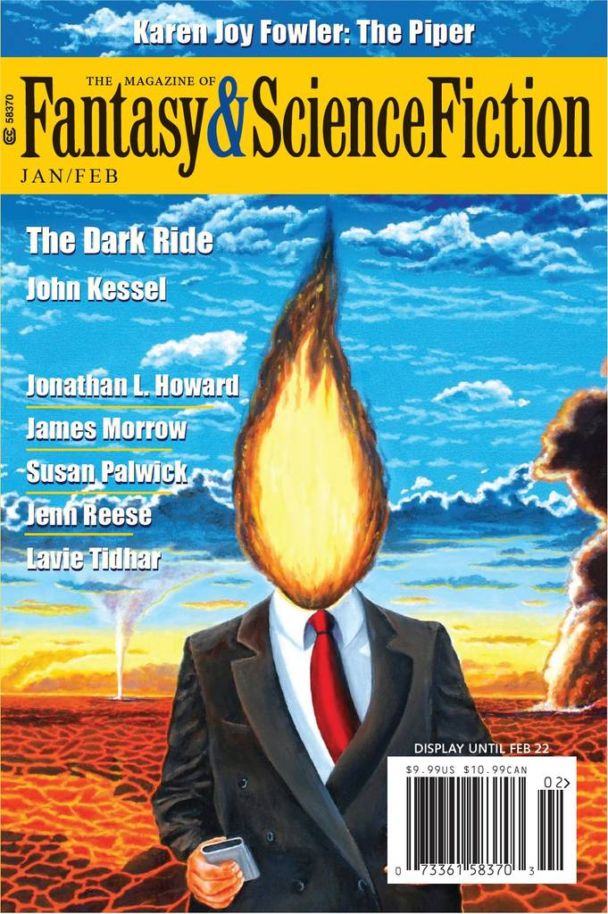 The Magazine of Fantasy & Science Fiction, January/February 2021 (F&SF, #753)