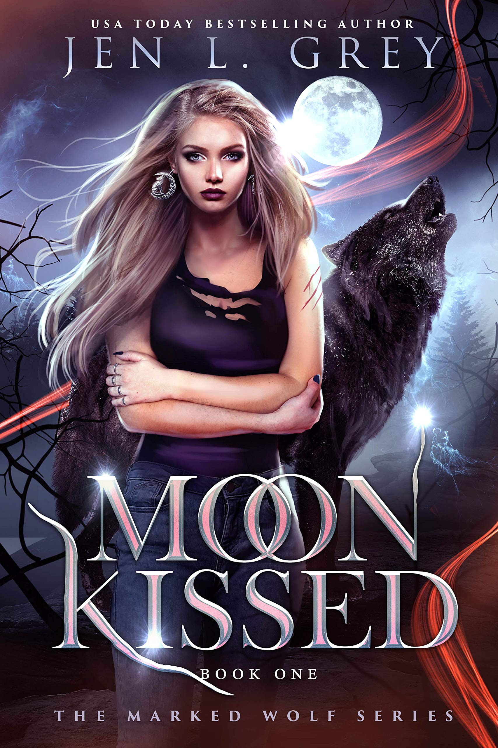 Moon Kissed (The Marked Wolf, #1)