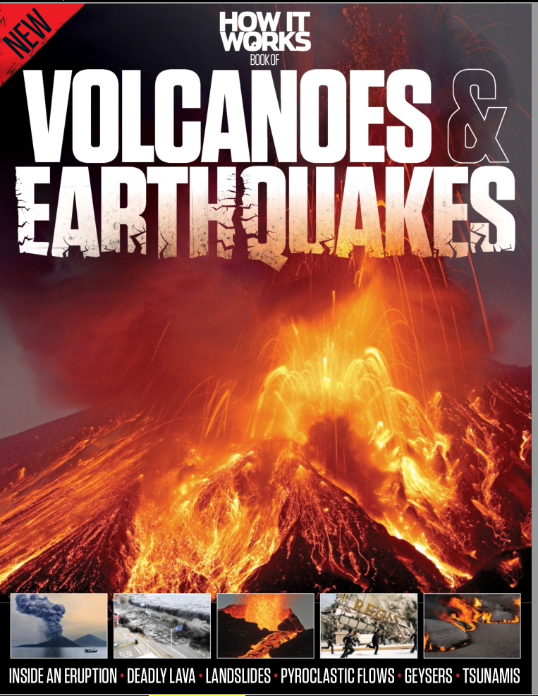 How It Works: Book of Volcanoes and Earthquakes