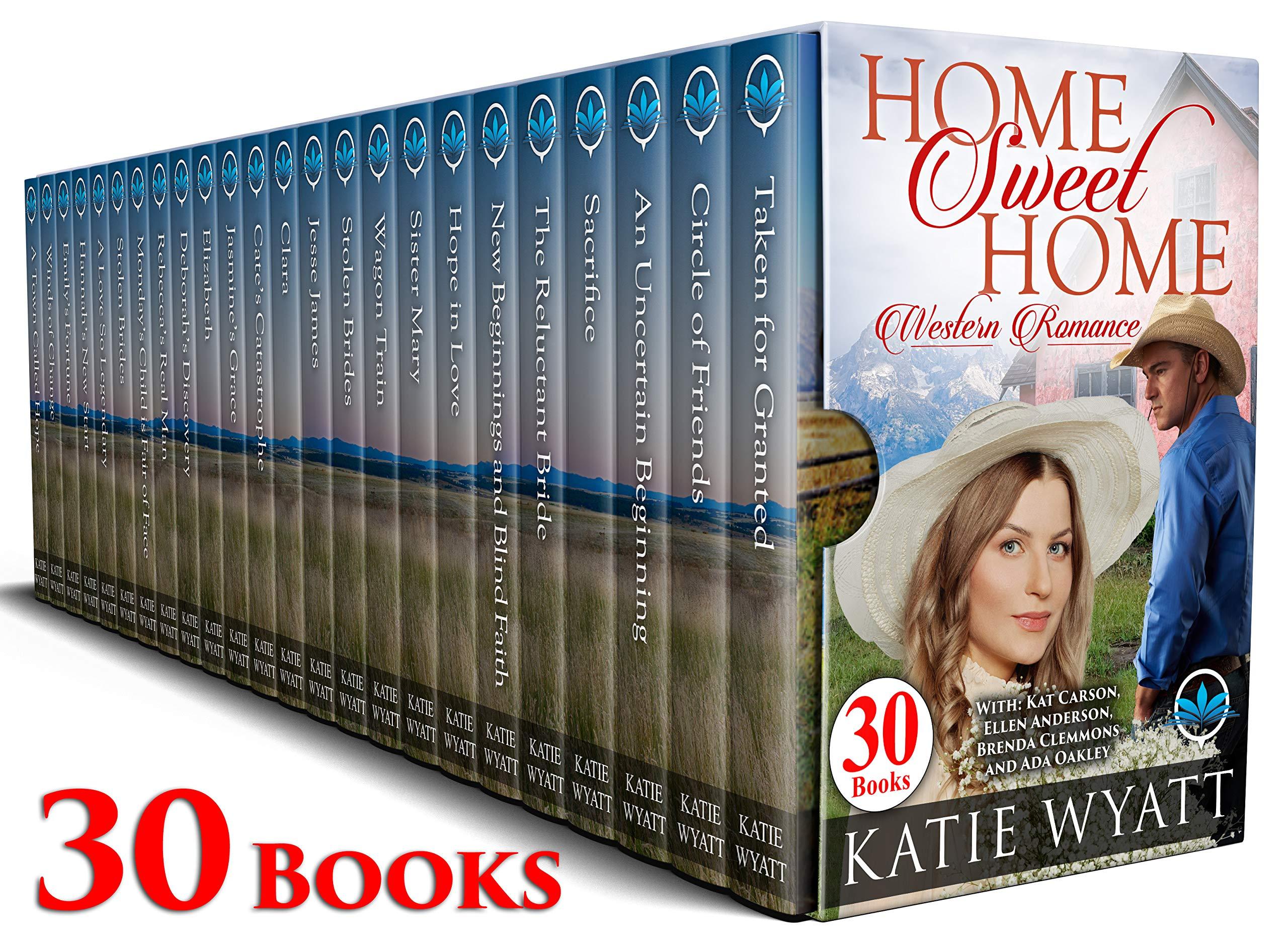 Home Sweet Home Western Romance : 30 Books (Mega Box Set Series Book 16)