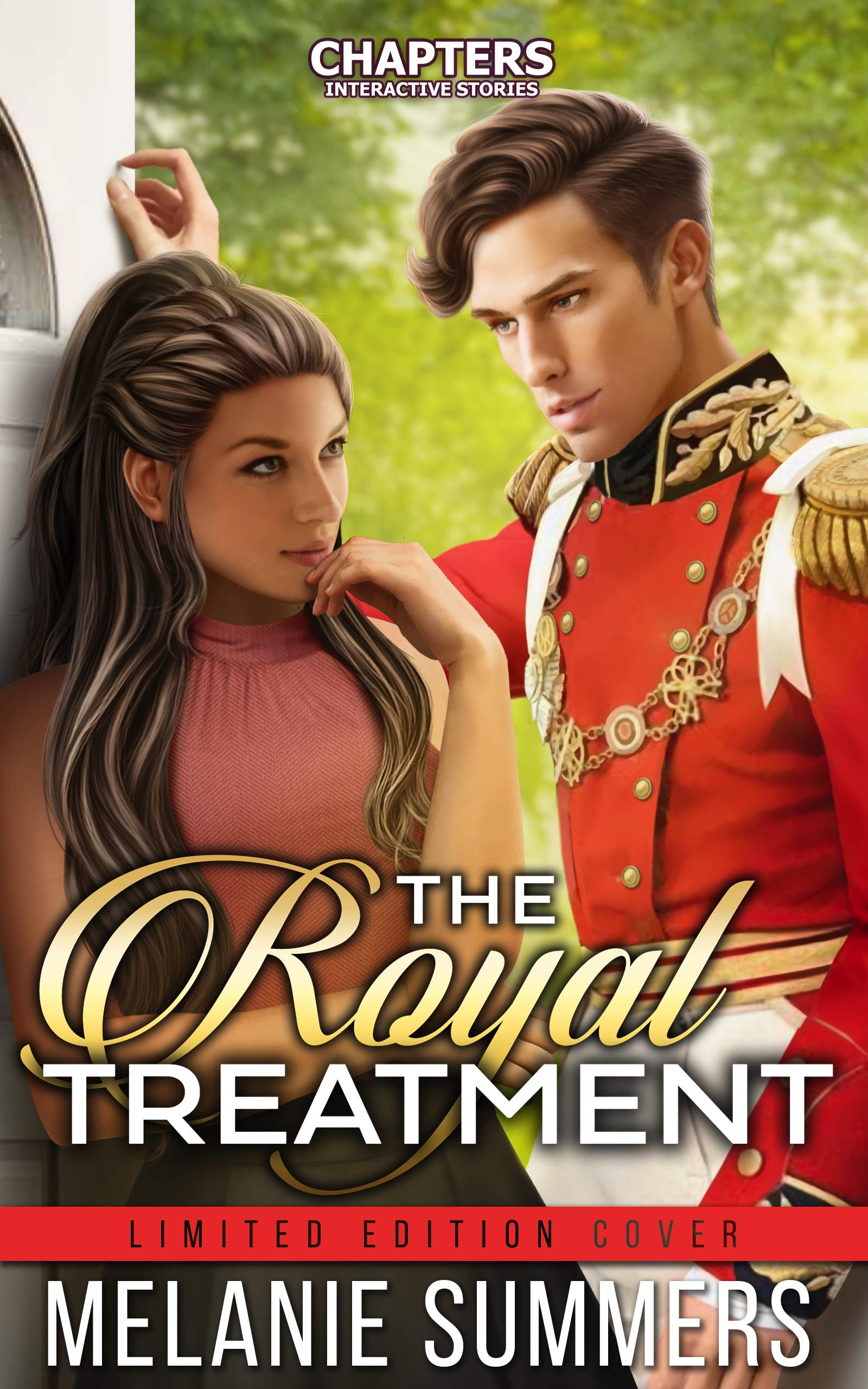 The Royal Treatment: Chapters Interative Story Limited Edition Cover