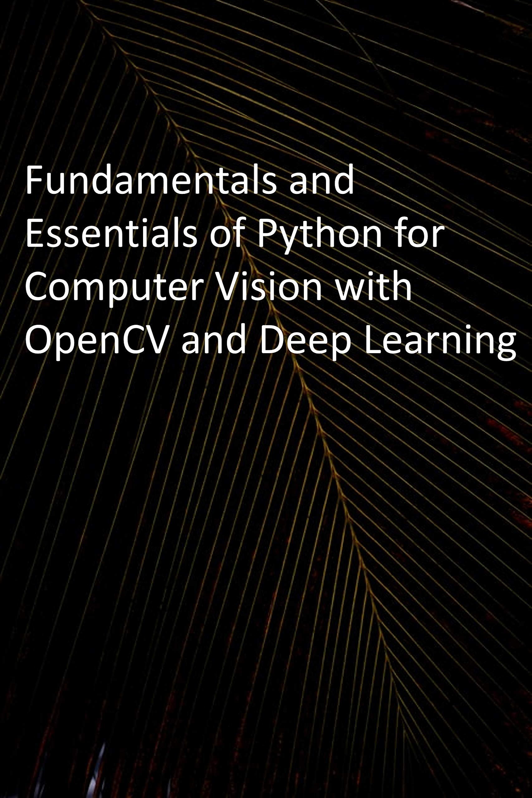 Fundamentals and Essentials of Python for Computer Vision with OpenCV and Deep Learning