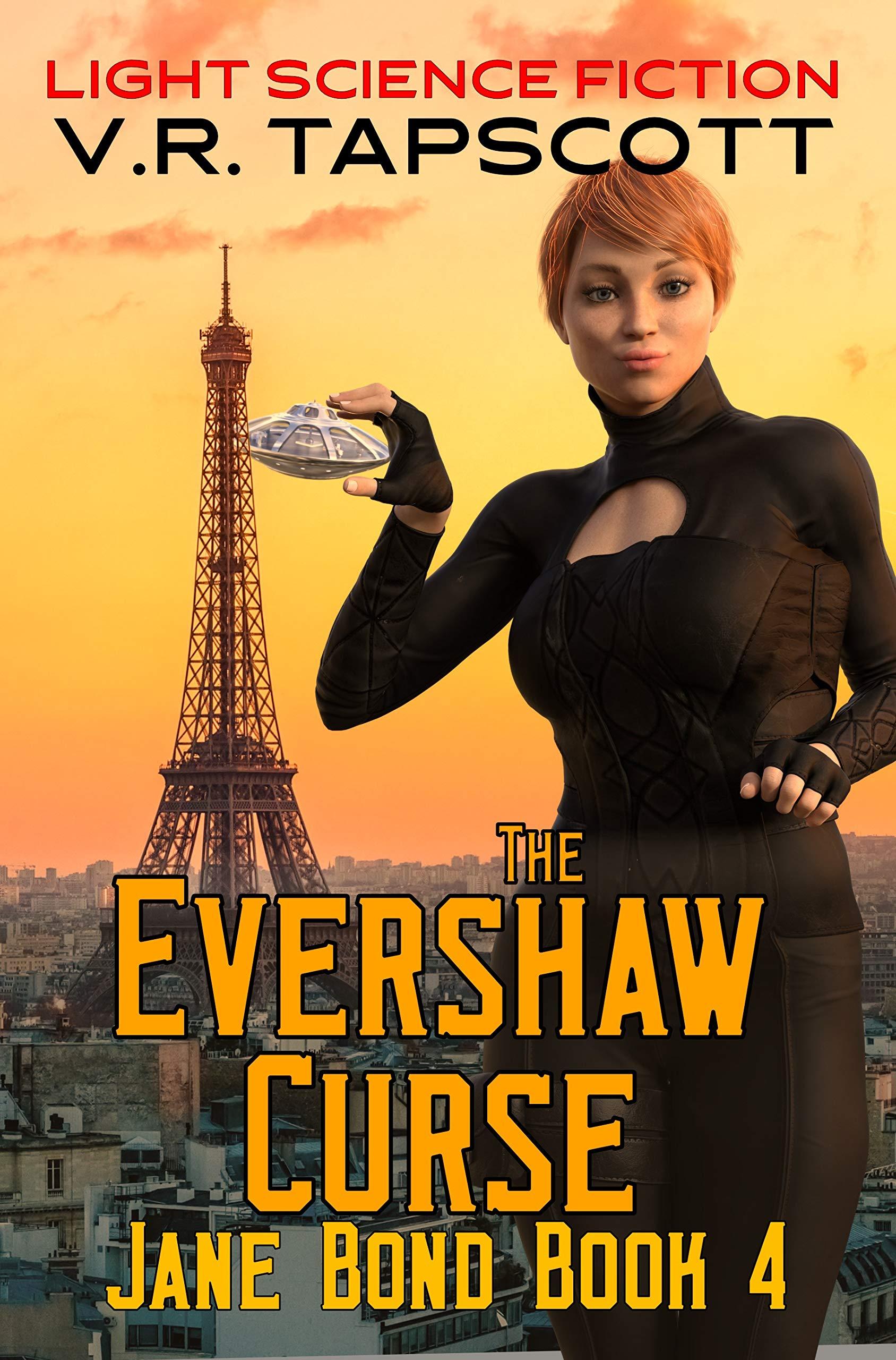 Jane Bond - The Evershaw Curse: Light Science Fiction