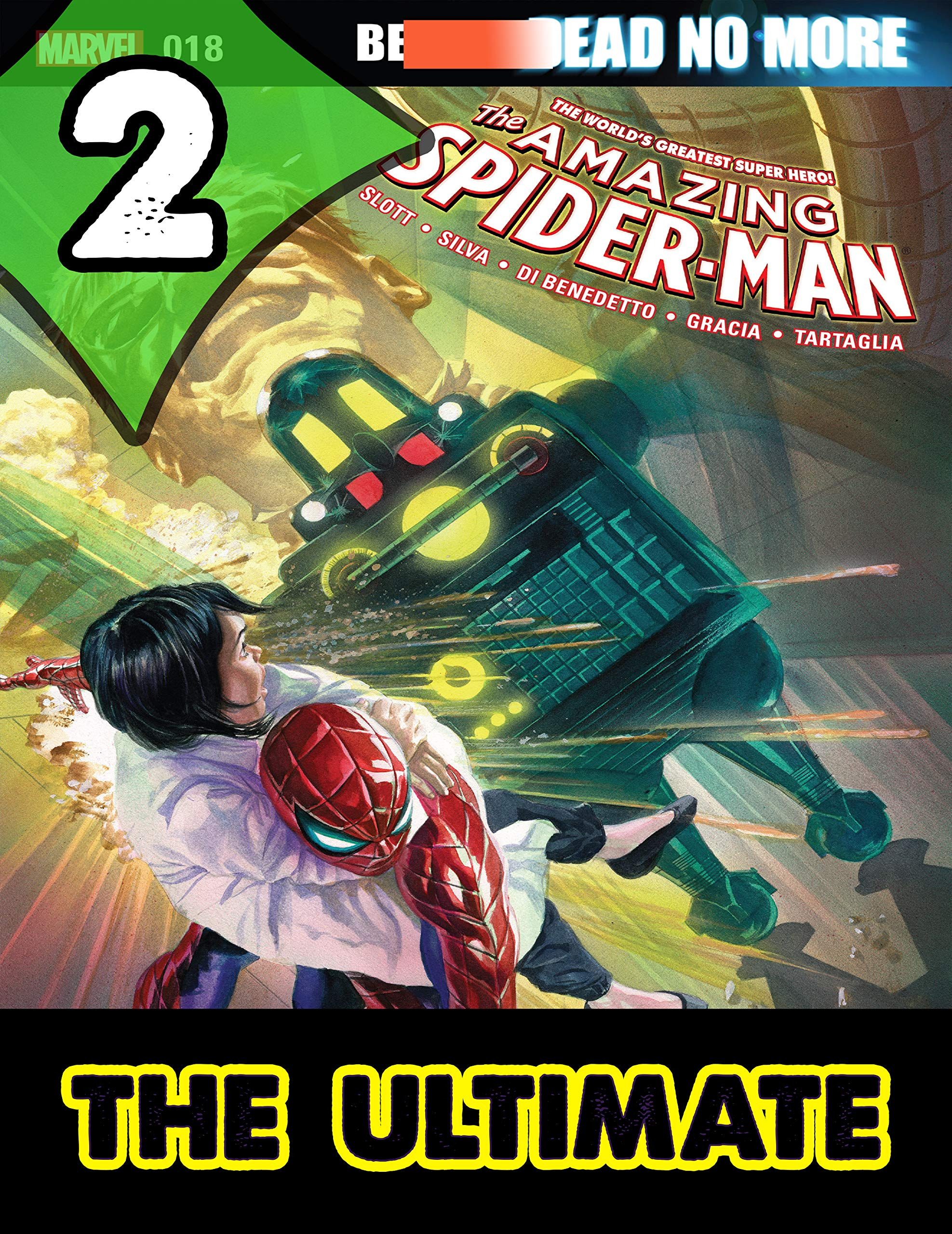 Best Graphic Novels Comics The Amazing Spider-Man : Book 2 - Ultimate Collections