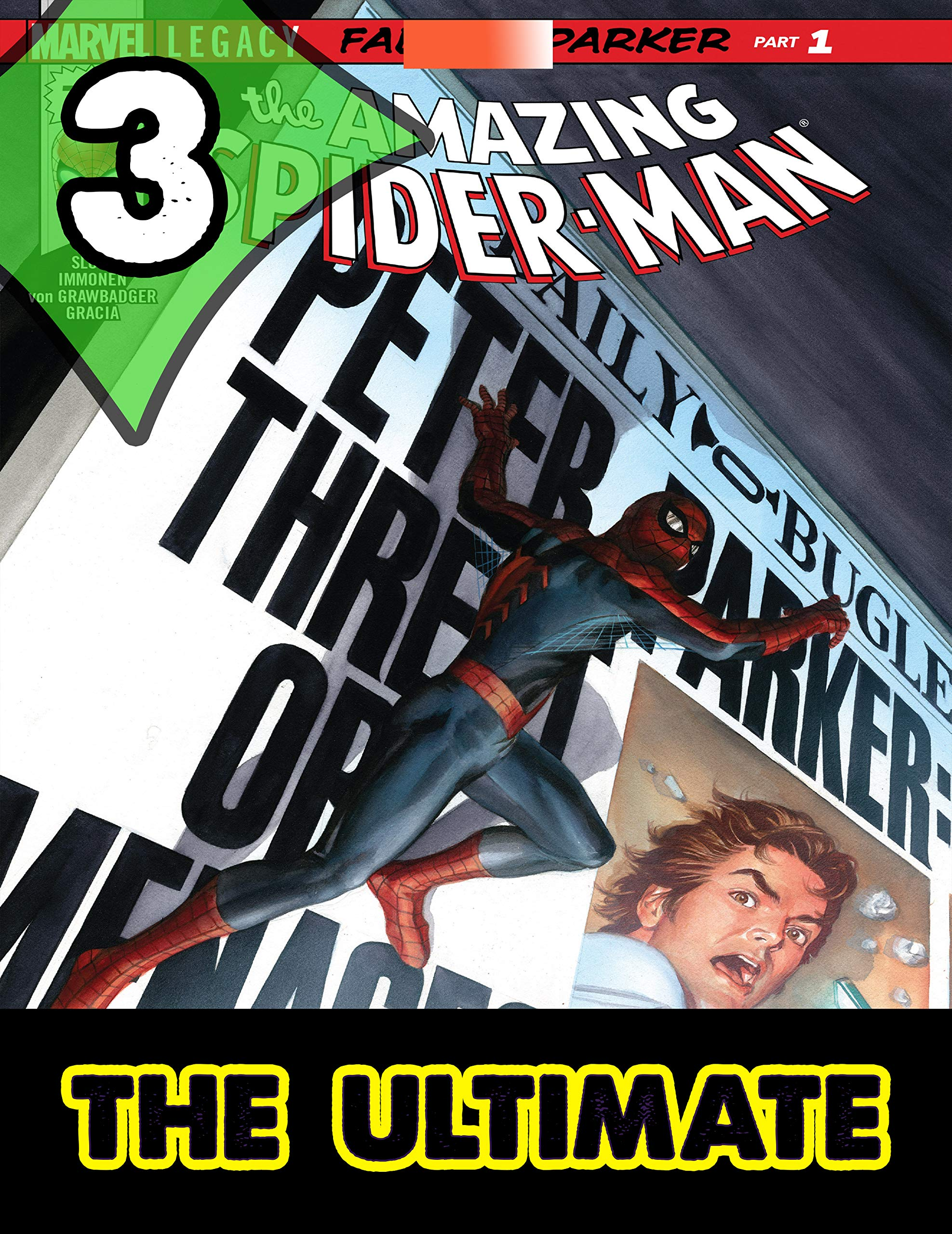 Best Graphic Novels Comics The Amazing Spider-Man : Book 3 - Ultimate Collections