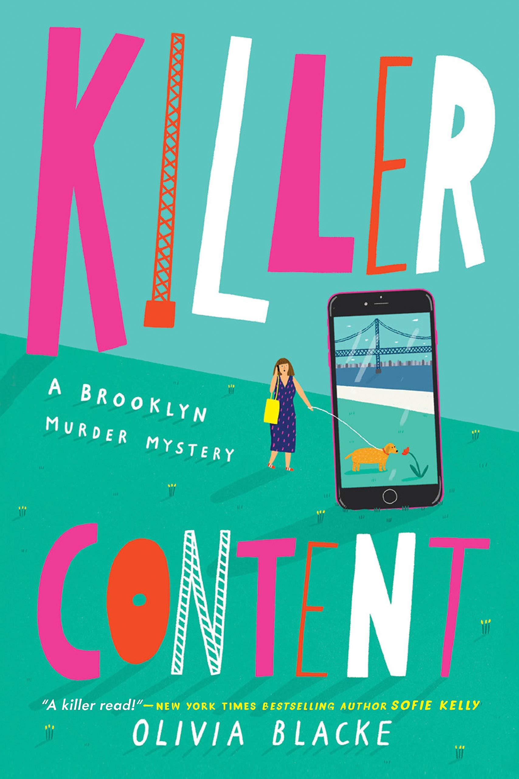 Killer Content (A Brooklyn Murder Mystery Book 1)