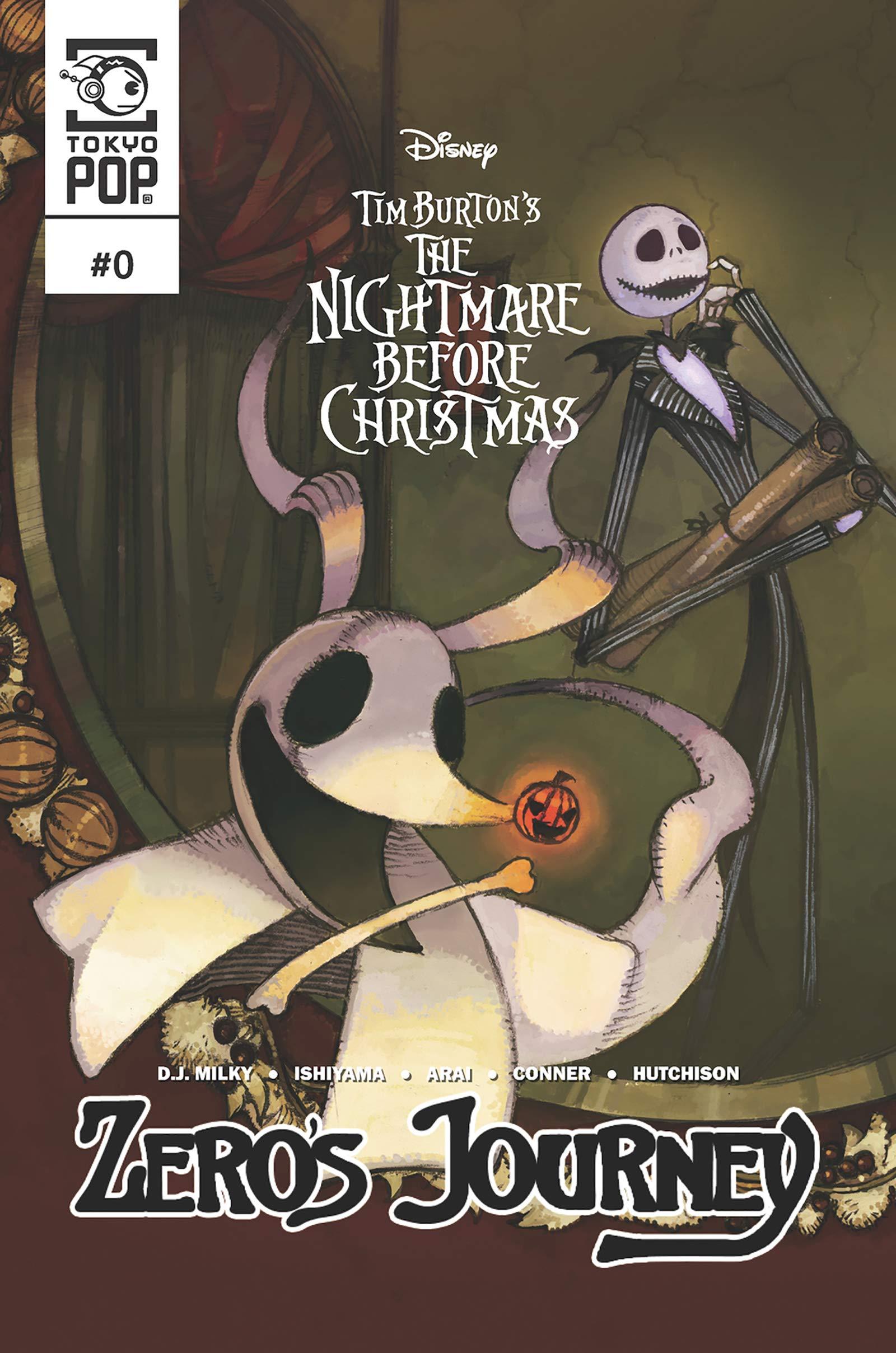 Disney Manga: The Nightmare Before Christmas — Zero's Journey Issue #0 (Prologue) (Zero's Journey Comic series)