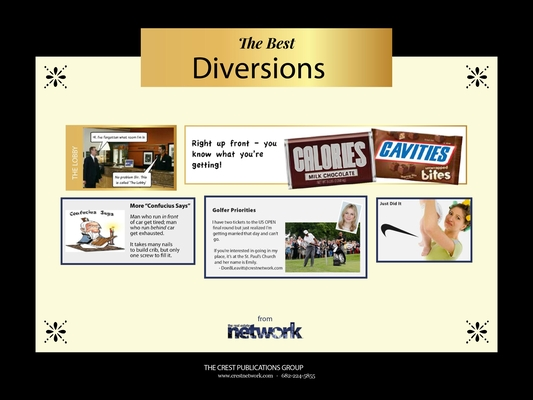 The Best Diversions: Humor from the Network