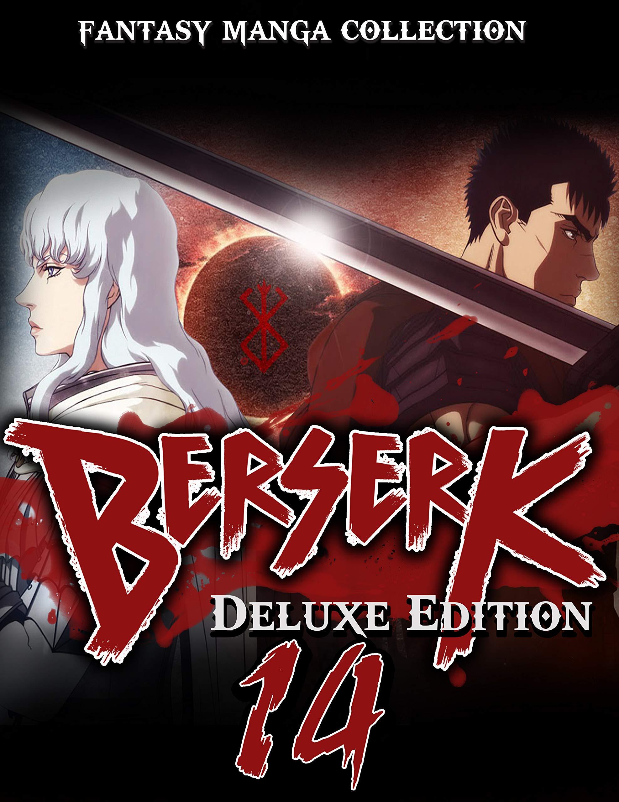 Best Fantasy Manga Collection Full Series Berserk: Full Deluxe Edition Vol 14