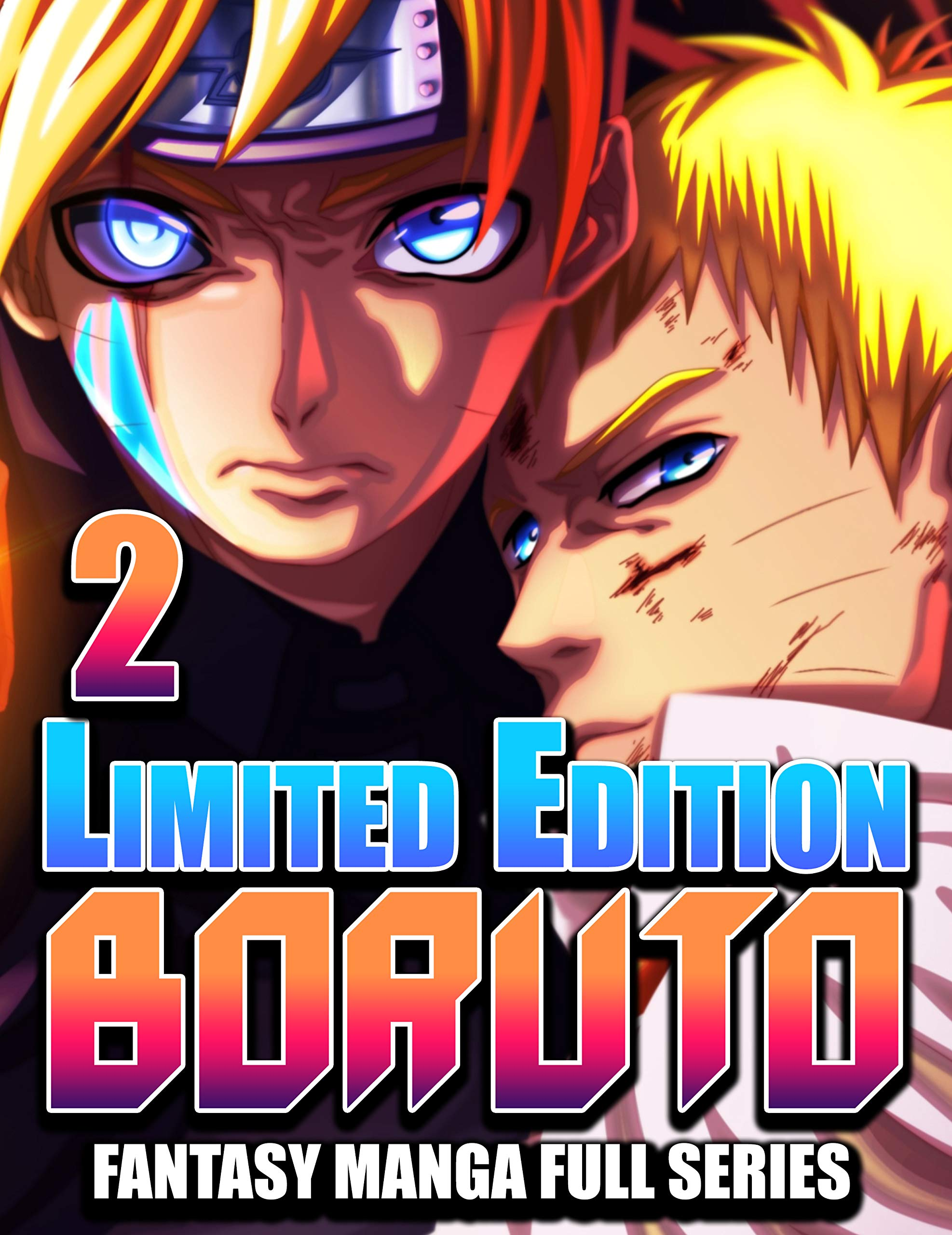 Best Fantasy Manga Boruto Full Series: Boruto Limited Full Edition Vol 2