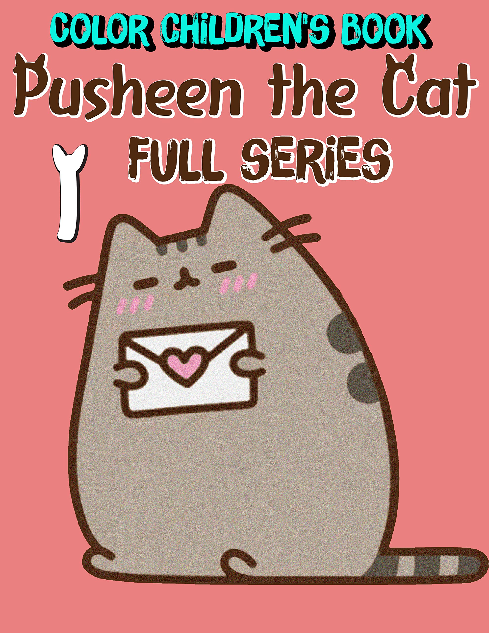 Color children's book Pusheen the Cat Full series: Funny Pusheen the Cat Limited Edition Volume 1