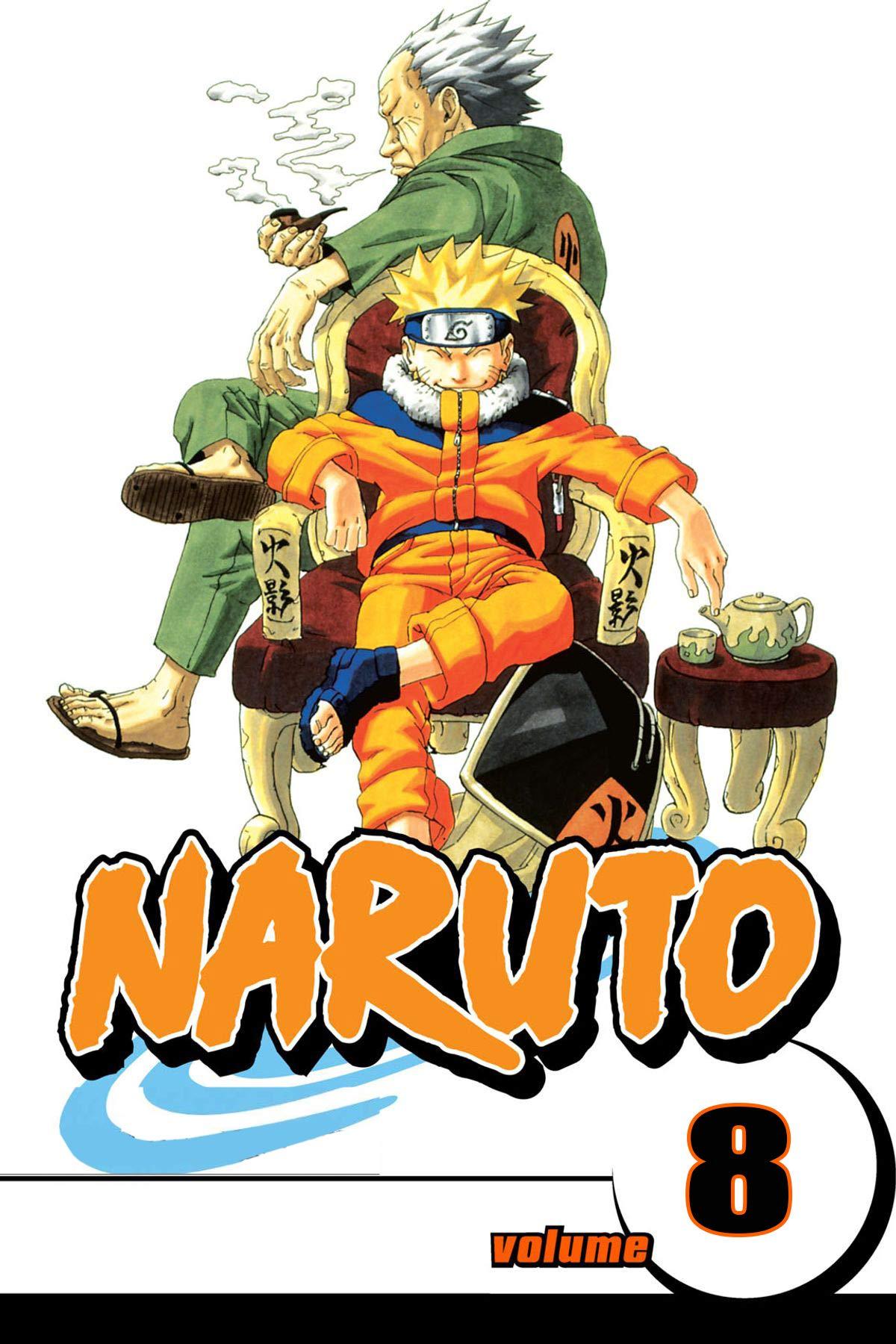 Full-Color Manga vol 8: Naruto Full