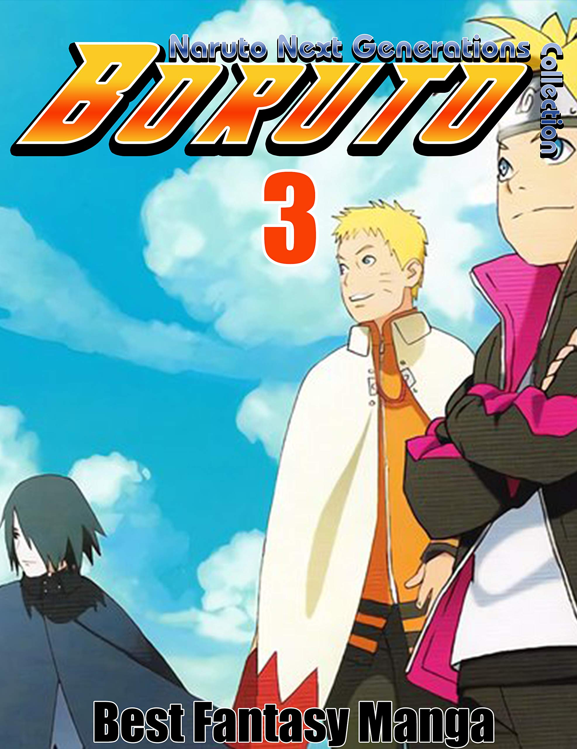 Best Fantasy Manga Boruto Naruto Next Generations Collection: Full Collection Boruto Naruto Next Generations Vol 3