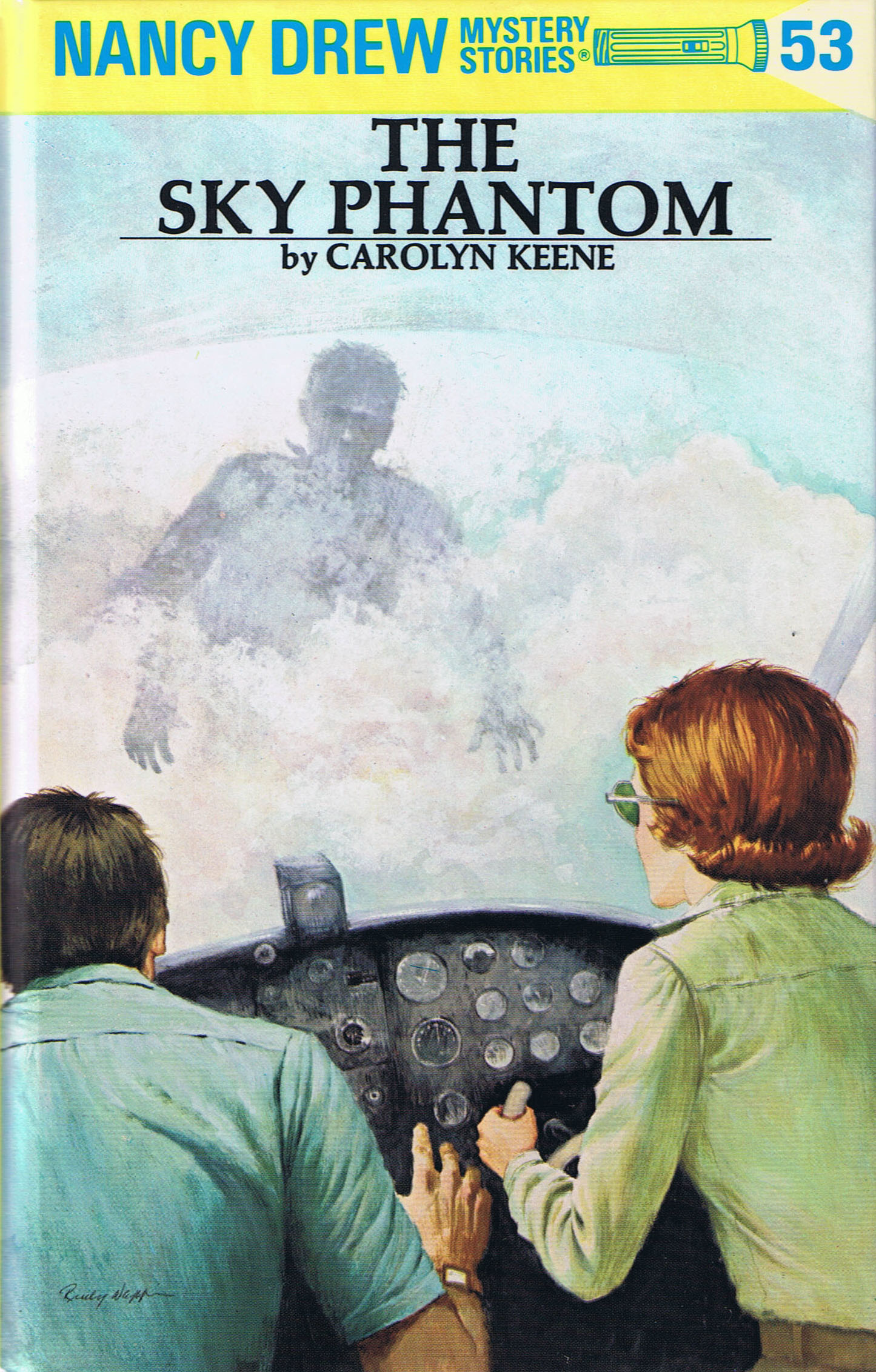 The Sky Phantom (Nancy Drew Mystery Stories, #53)