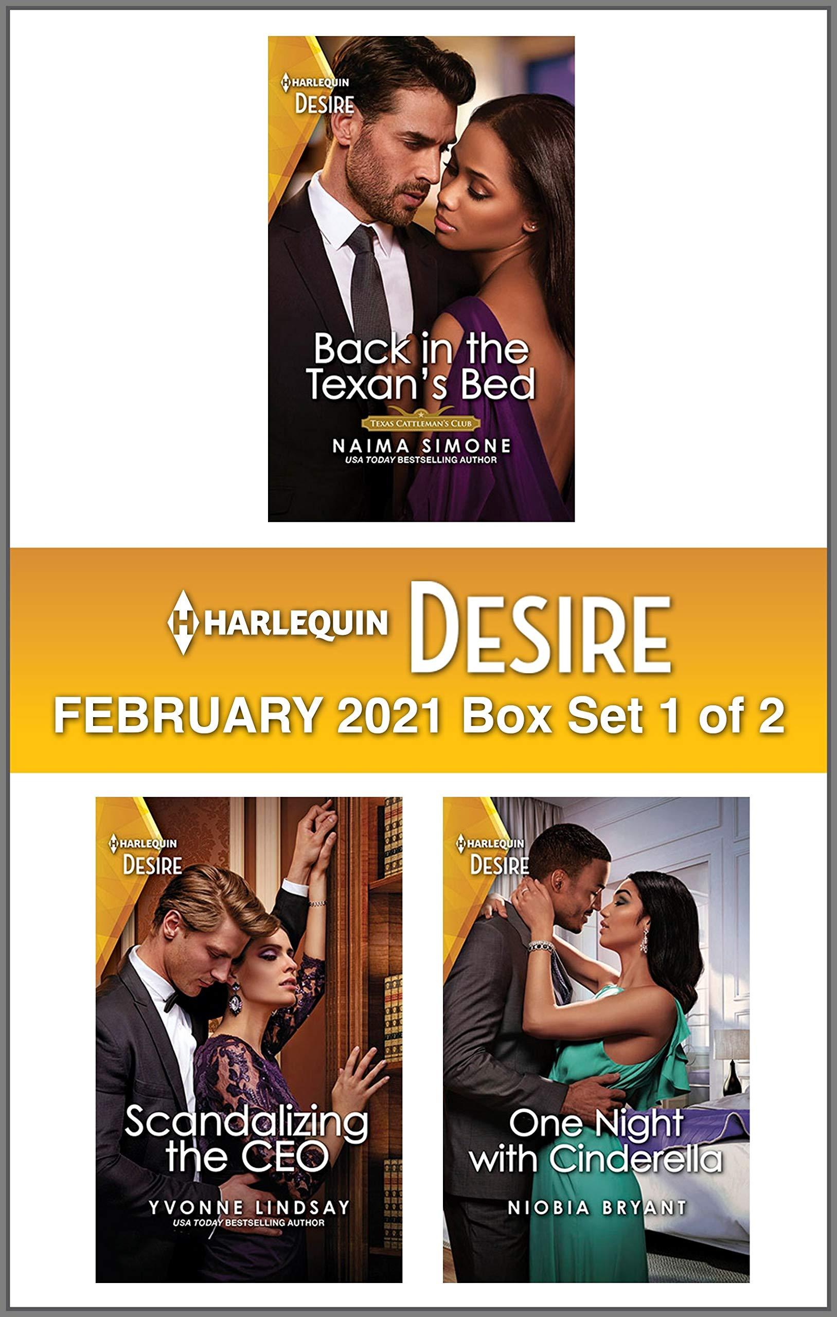 Harlequin Desire February 2021 - Box Set 1 of 2