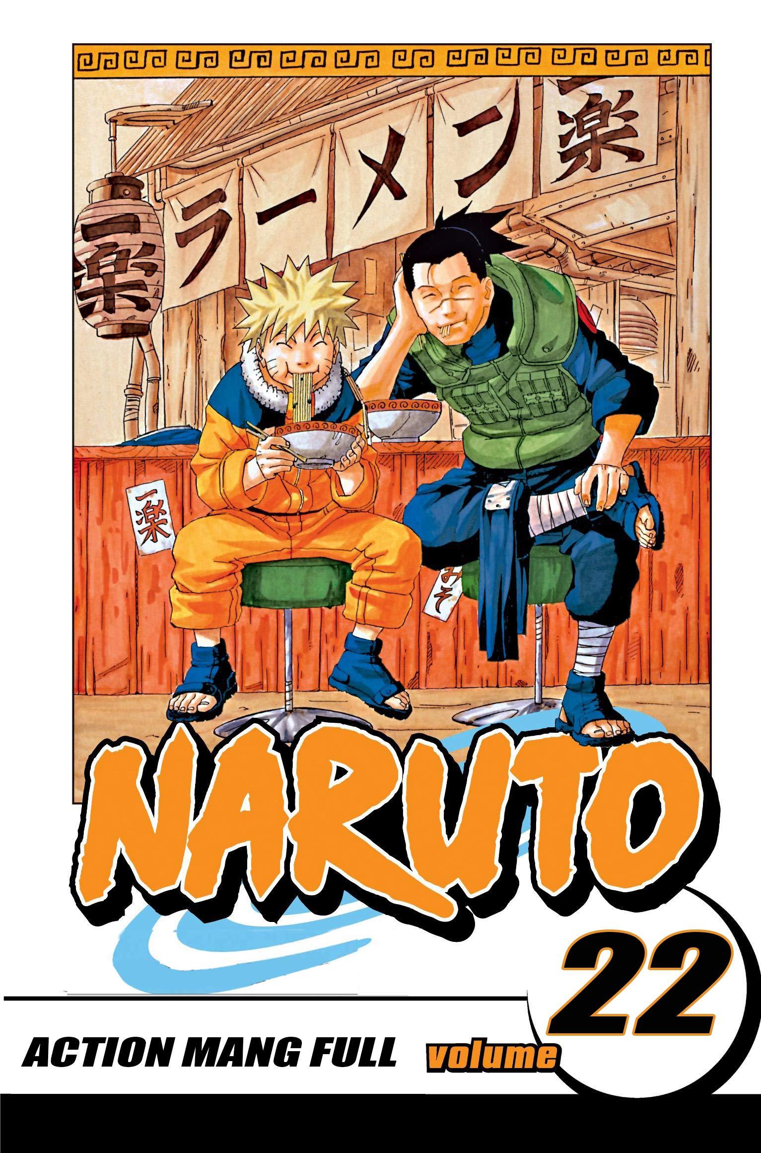 Action Manga Full Volume 22: Naruto Manga