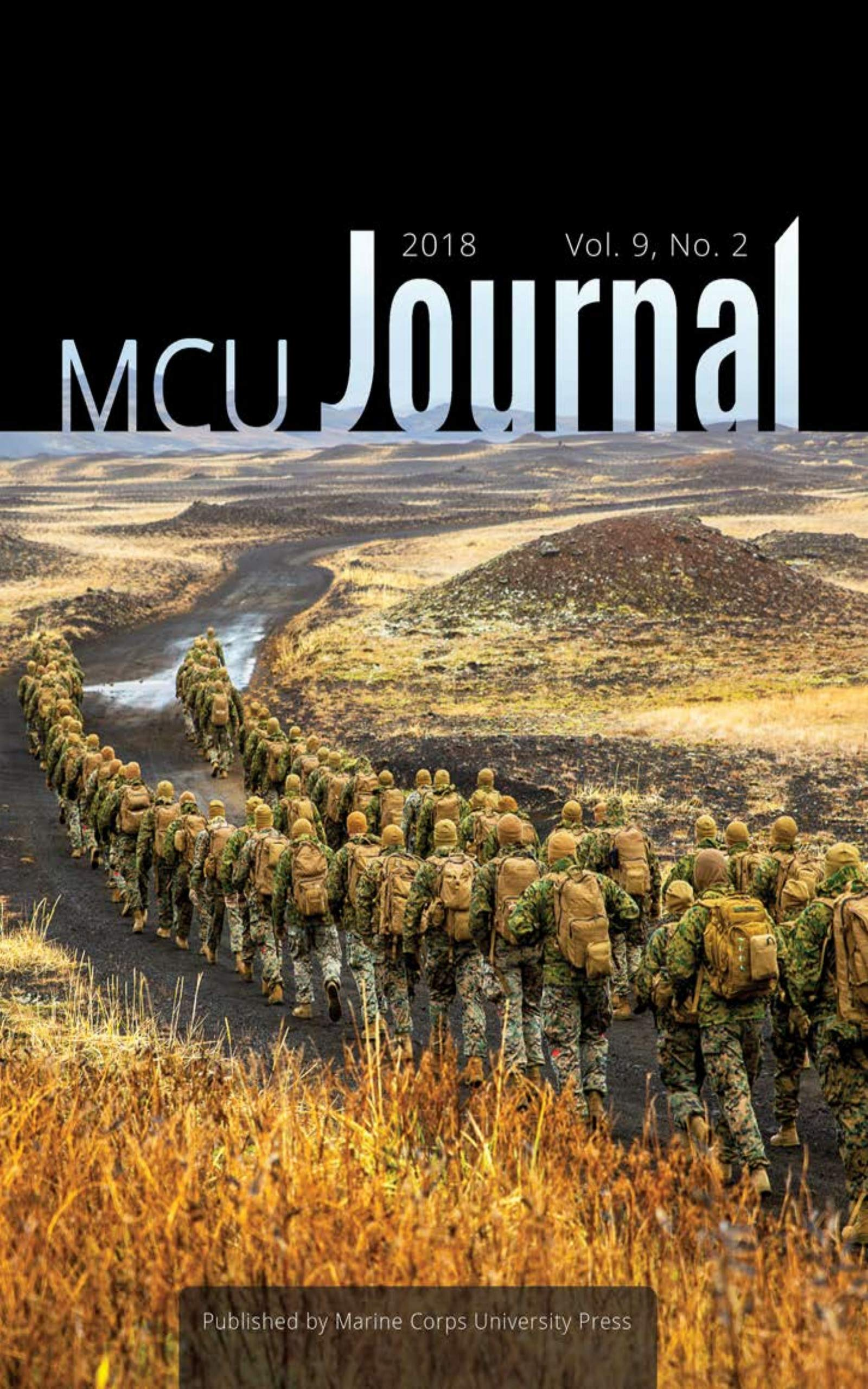 Marine Corps University Journal: Edition 2018 (Volume 9, Number 2)