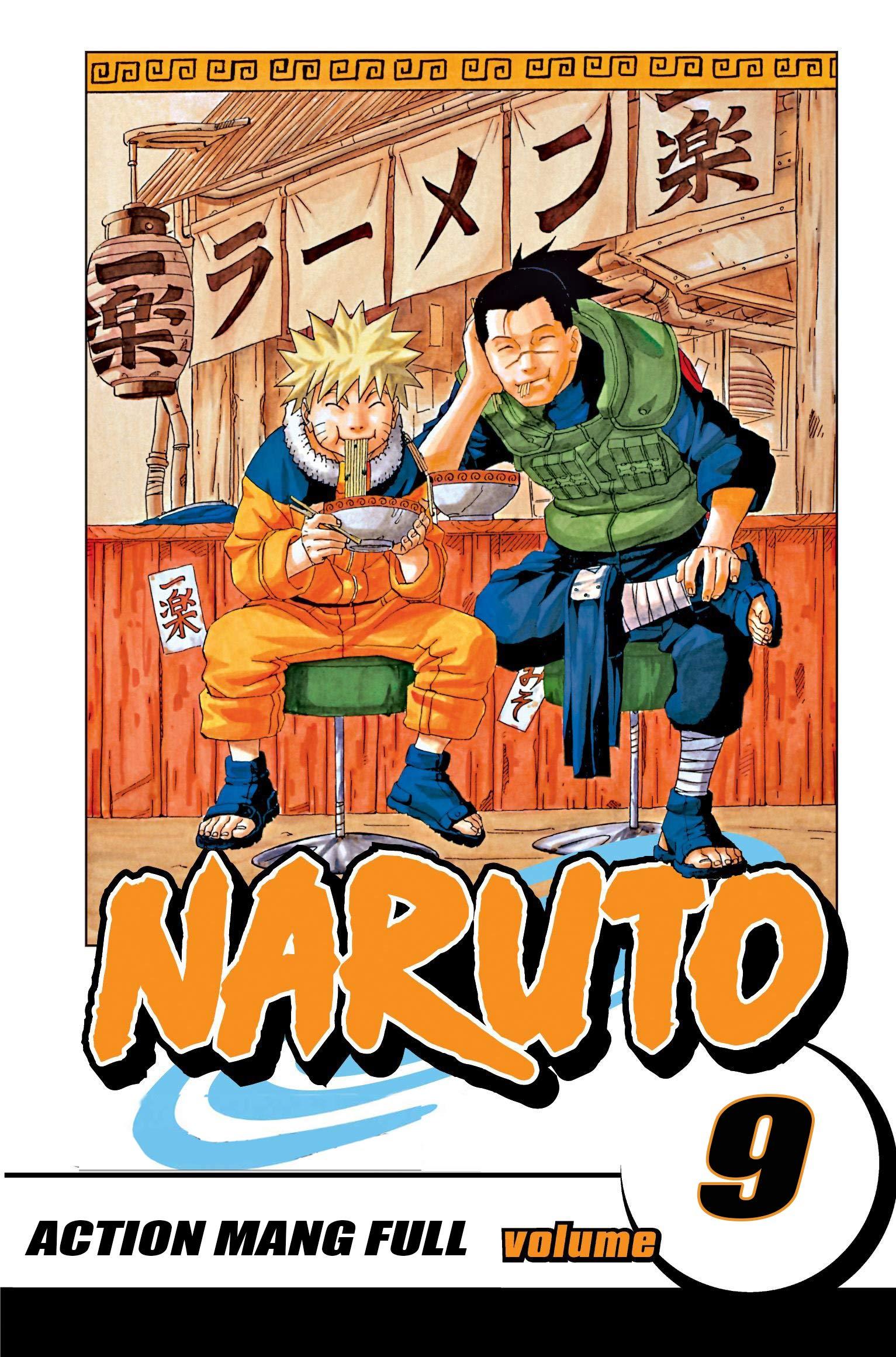 Action Manga Full Volume 9: Naruto Manga