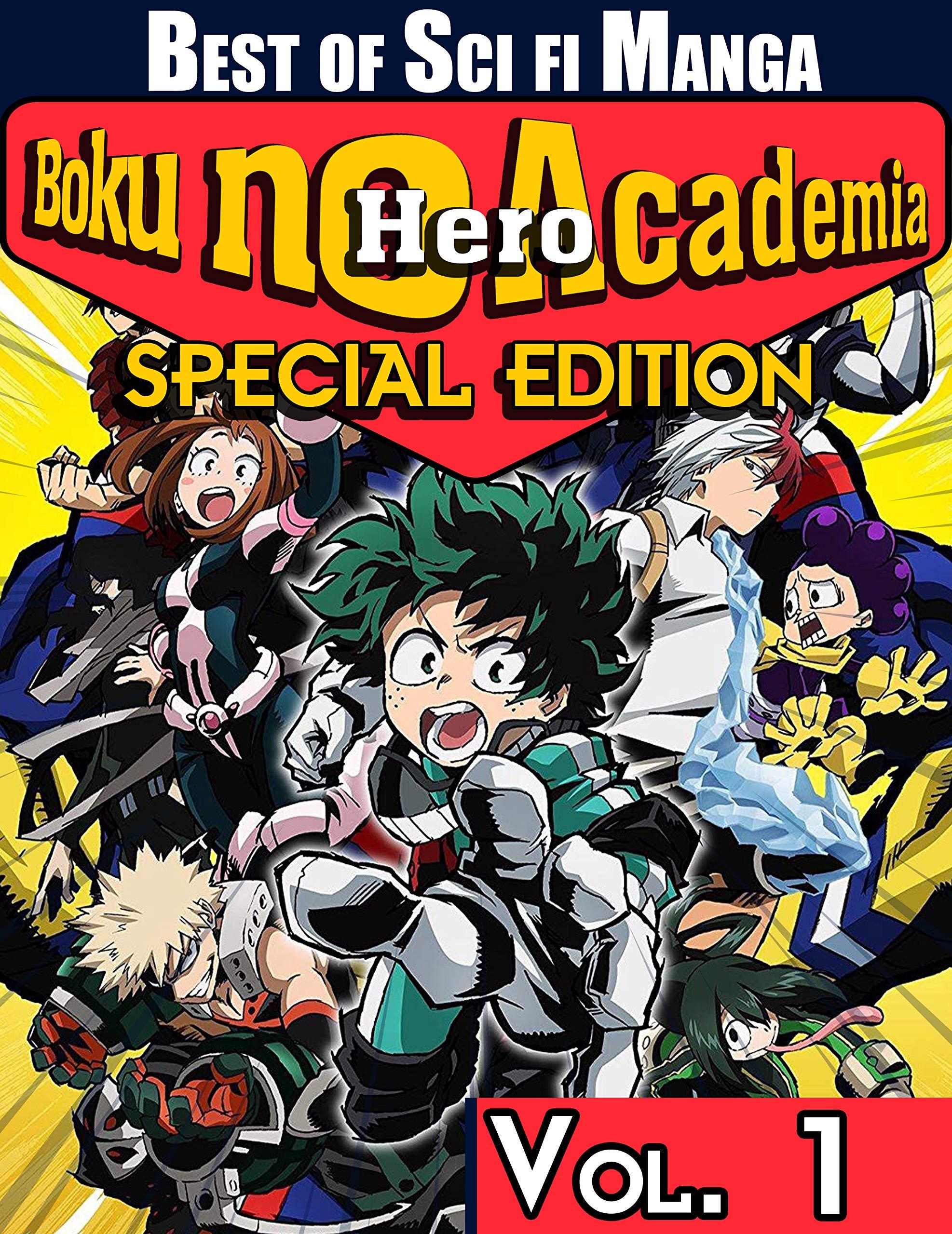 Best of Sci fi Manga Boku no Hero Academia Special Edition: Limited Edition Boku no Hero Academia Vol 1