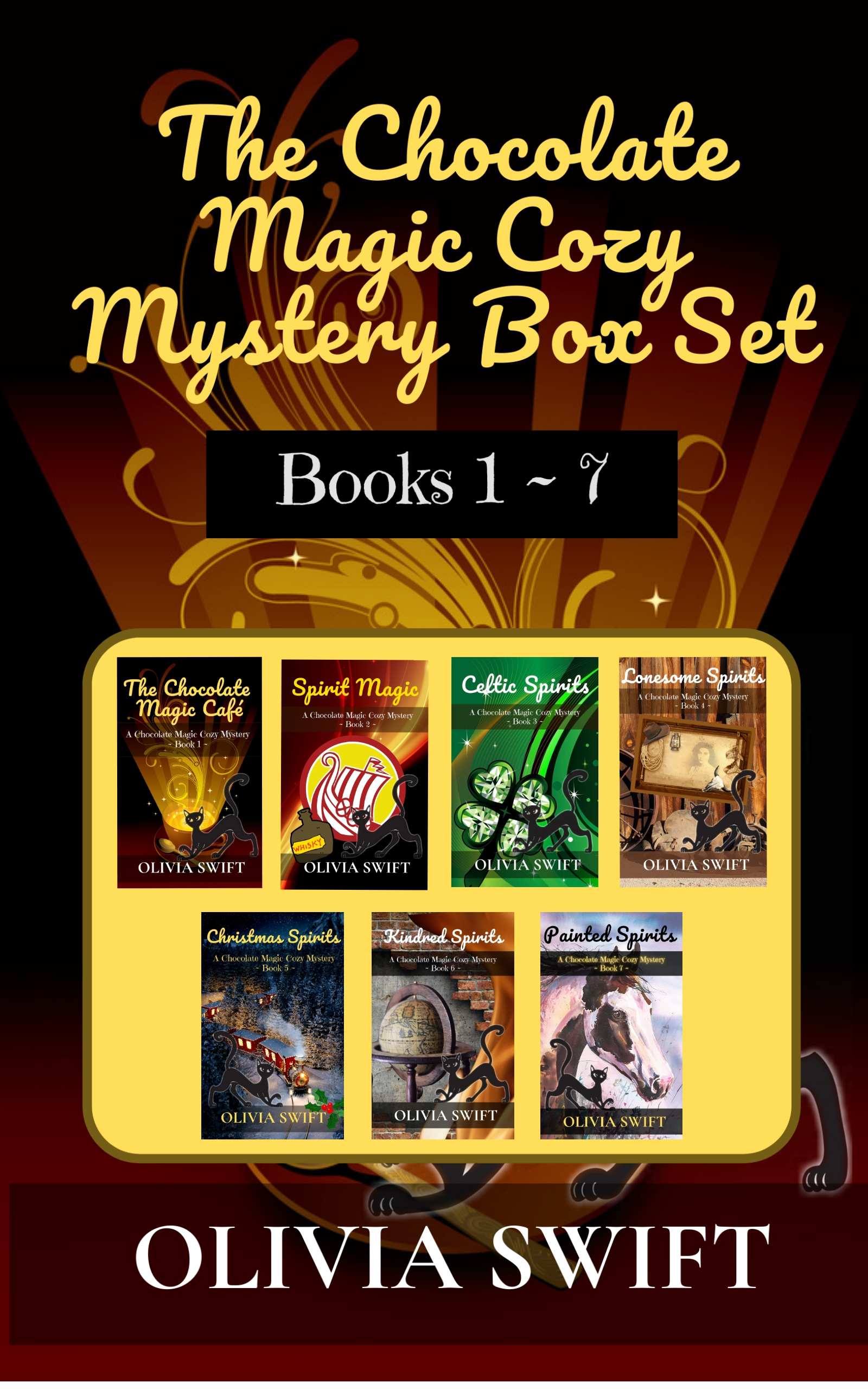 The Chocolate Magic Cozy Mystery Box Set Books 1 to 7