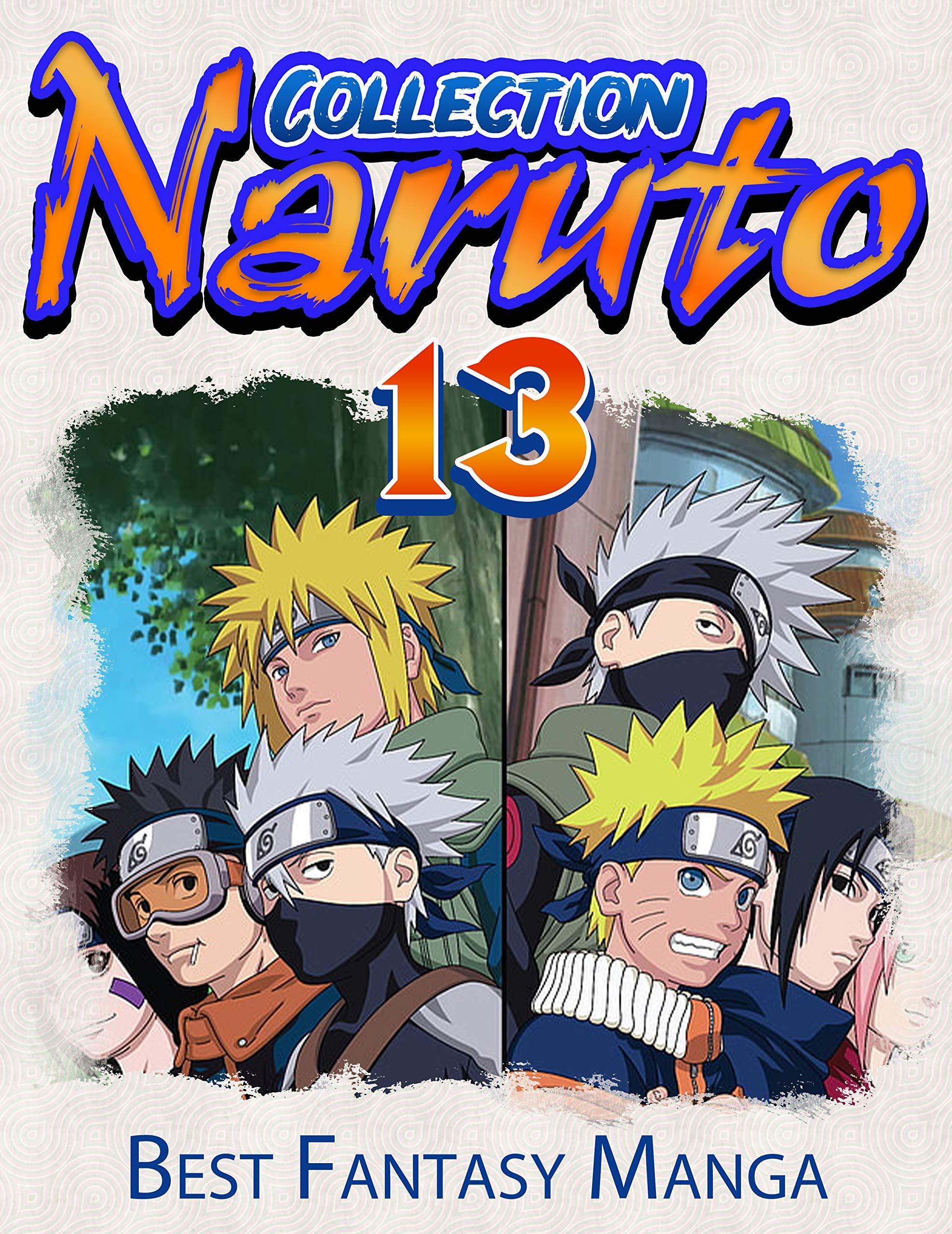 Best Fantasy Manga Naruto Collection: Full Collection Naruto Vol 13