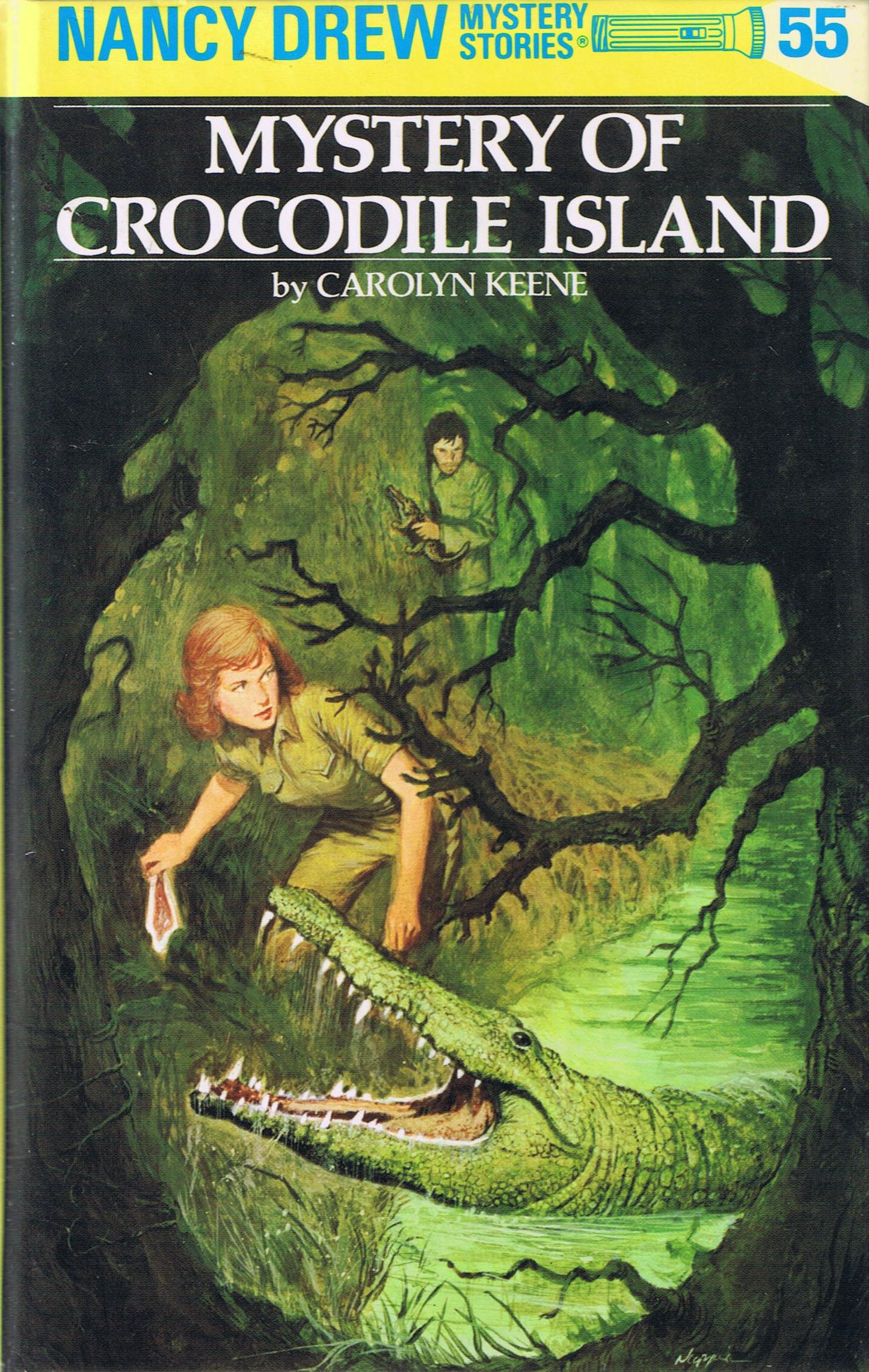Mystery of Crocodile Island (Nancy Drew Mystery Stories, #55)