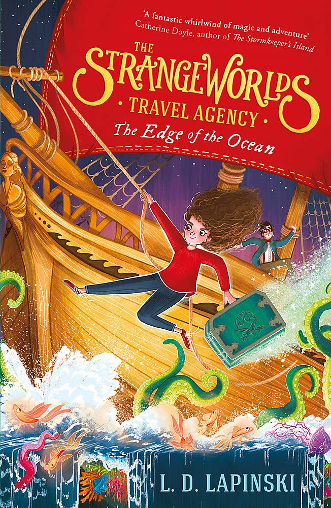 The Edge of the Ocean (Strangeworlds Travel Agency #2)