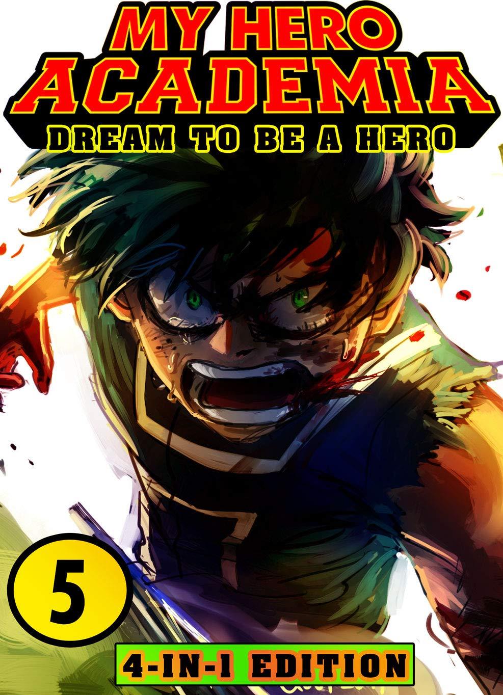 Dream To Be Hero: Book 5 Collection - New Edition - Manga Fantasy Adventures My Hero Academia Action Shonen