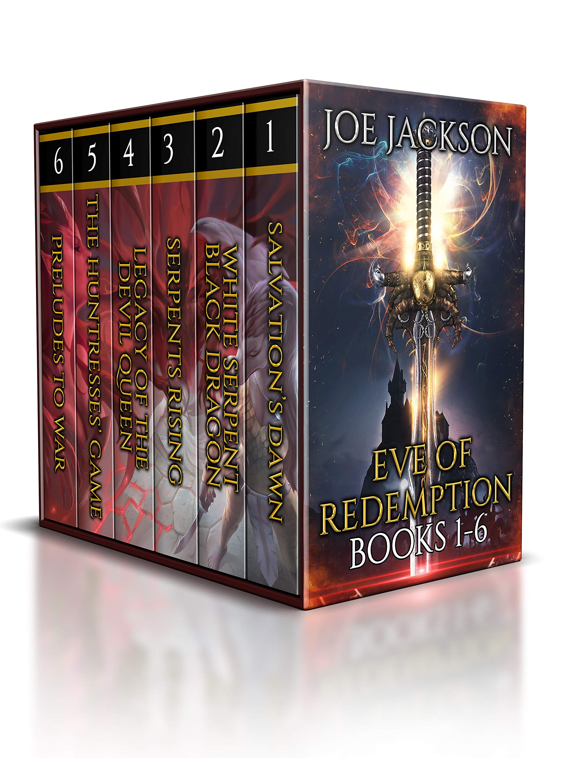 Eve of Redemption: Books 1-6: (An Epic Fantasy Boxed Set) (Eve of Redemption Box Sets Book 1)