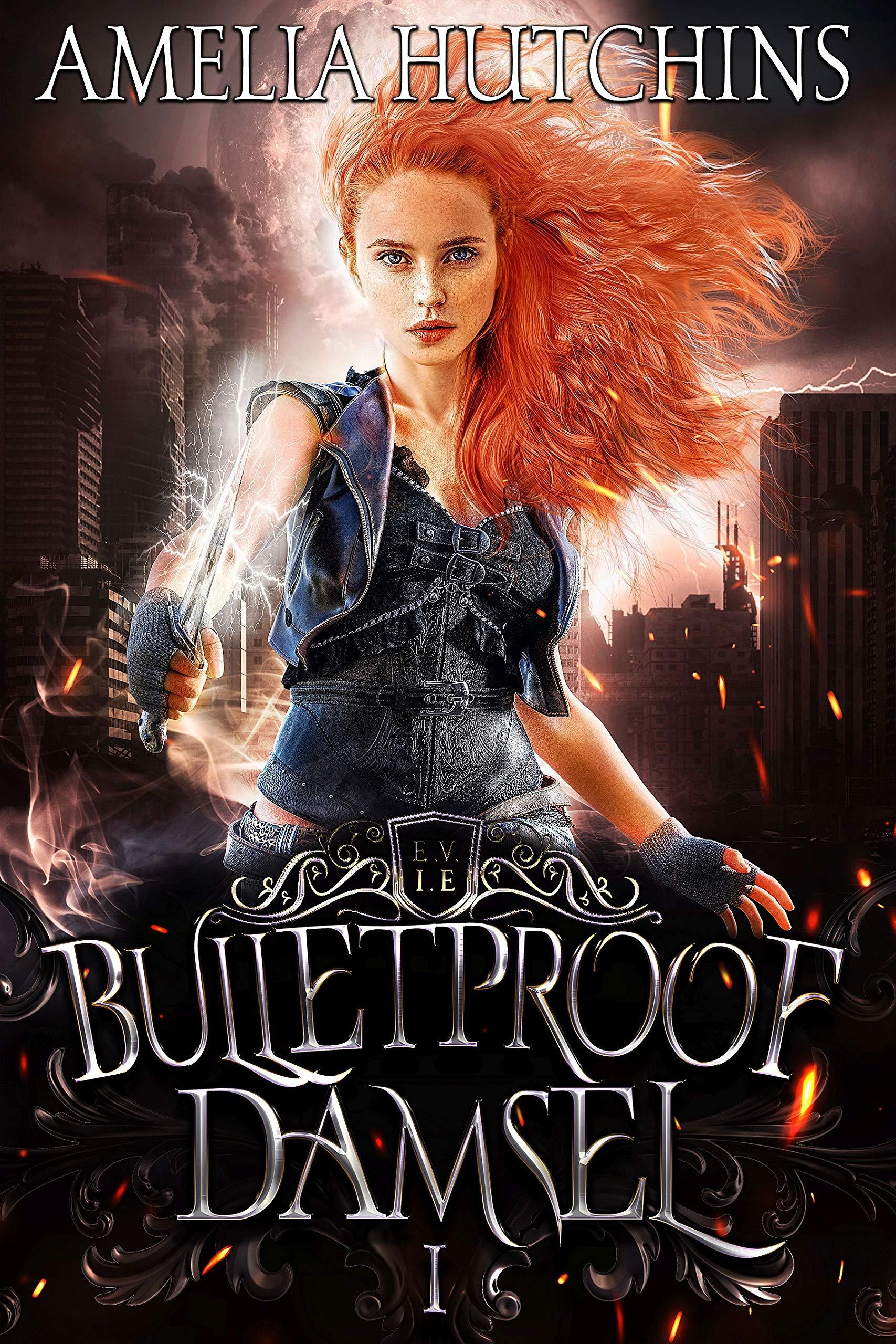 Bulletproof Damsel (Urban Fantasy Romance Series Book, #1)