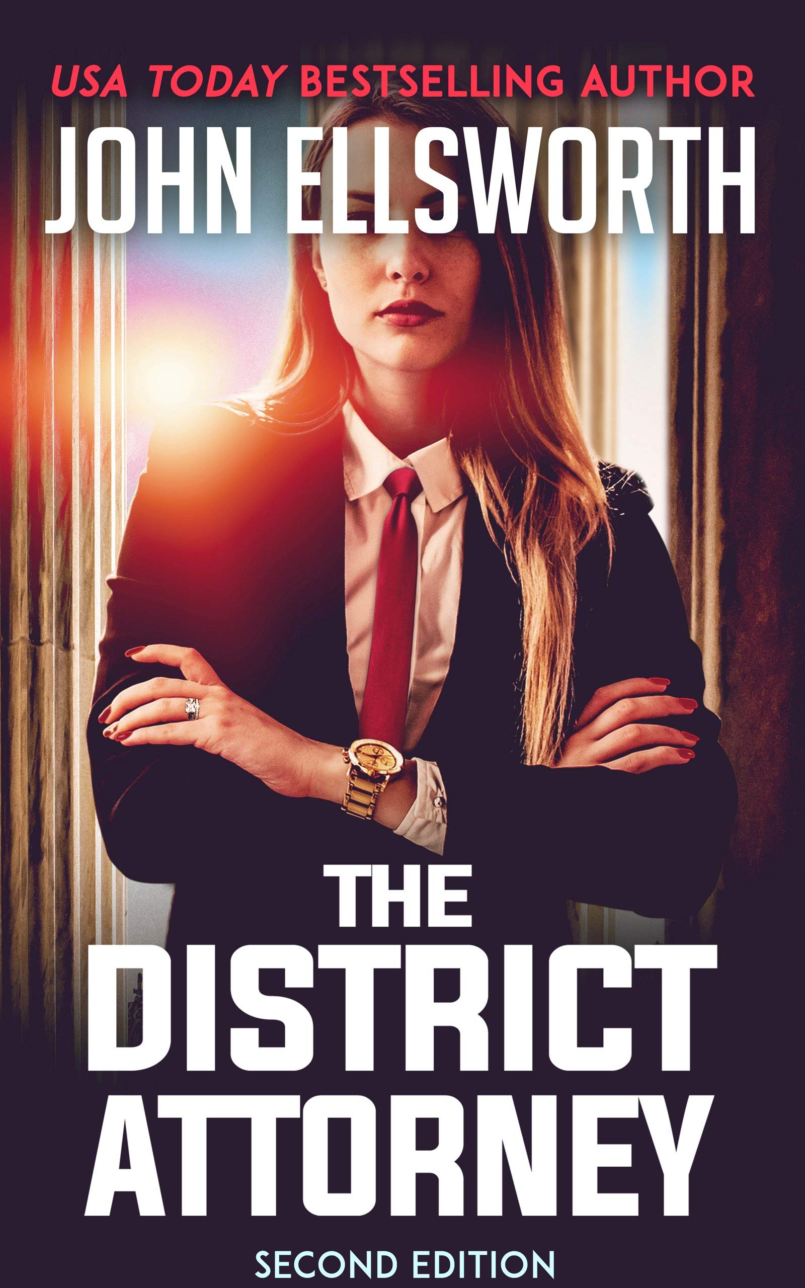 The District Attorney: A Legal Thriller (Lettie Portman Book 1)
