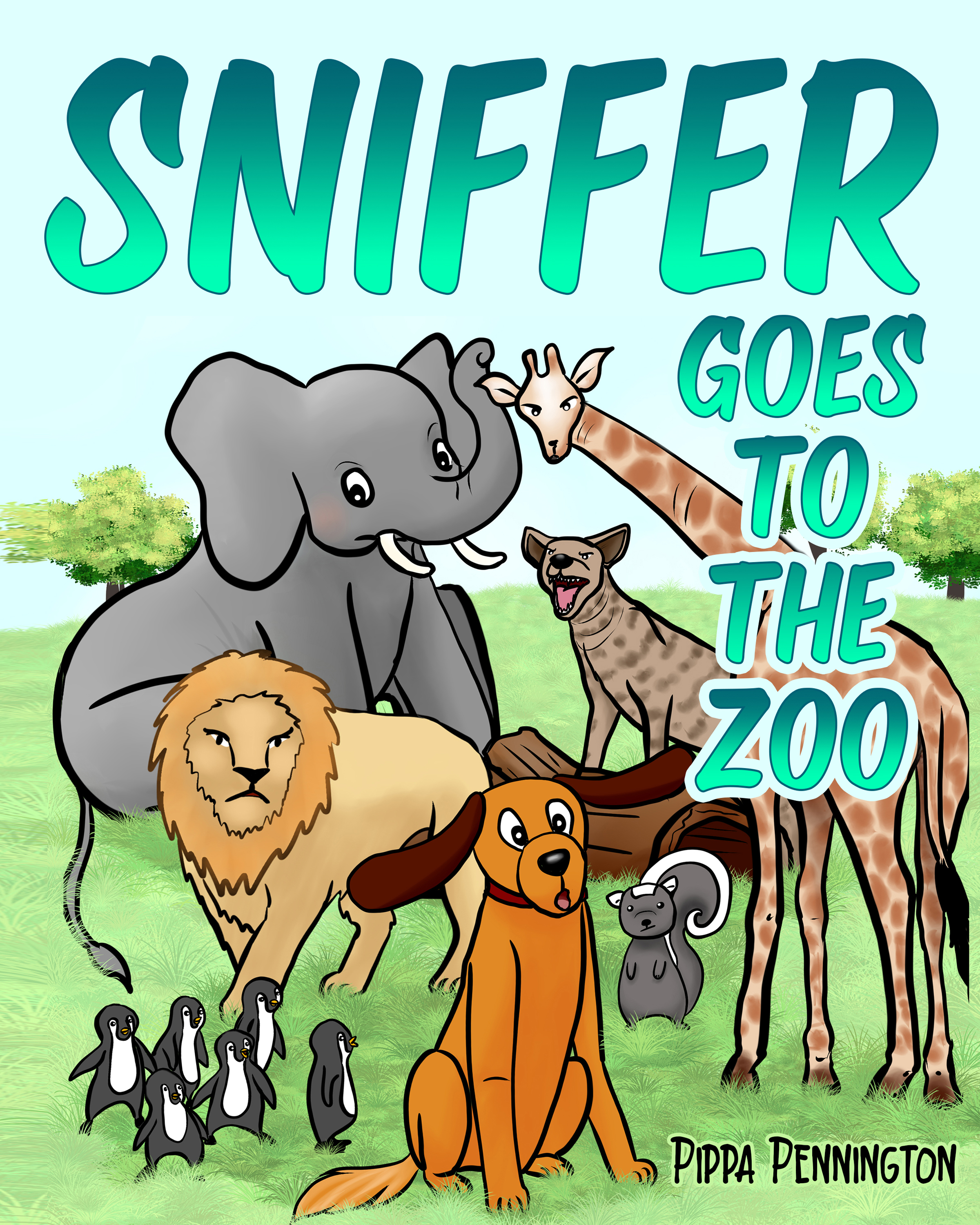 Sniffer Goes to the Zoo (Sniffer Children's Books, #6)
