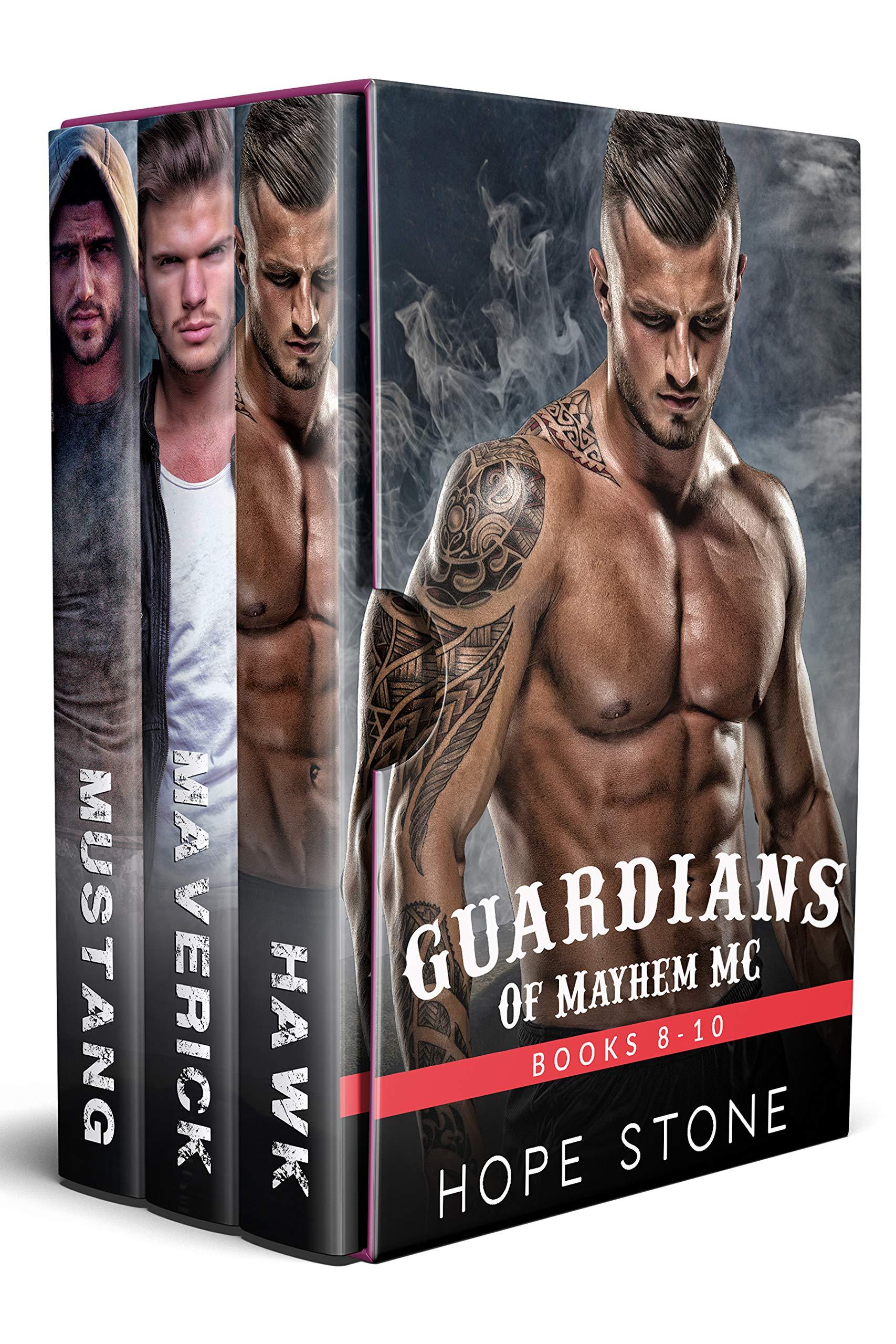 Guardians of Mayhem MC Box Set 2 (Books 8-10)