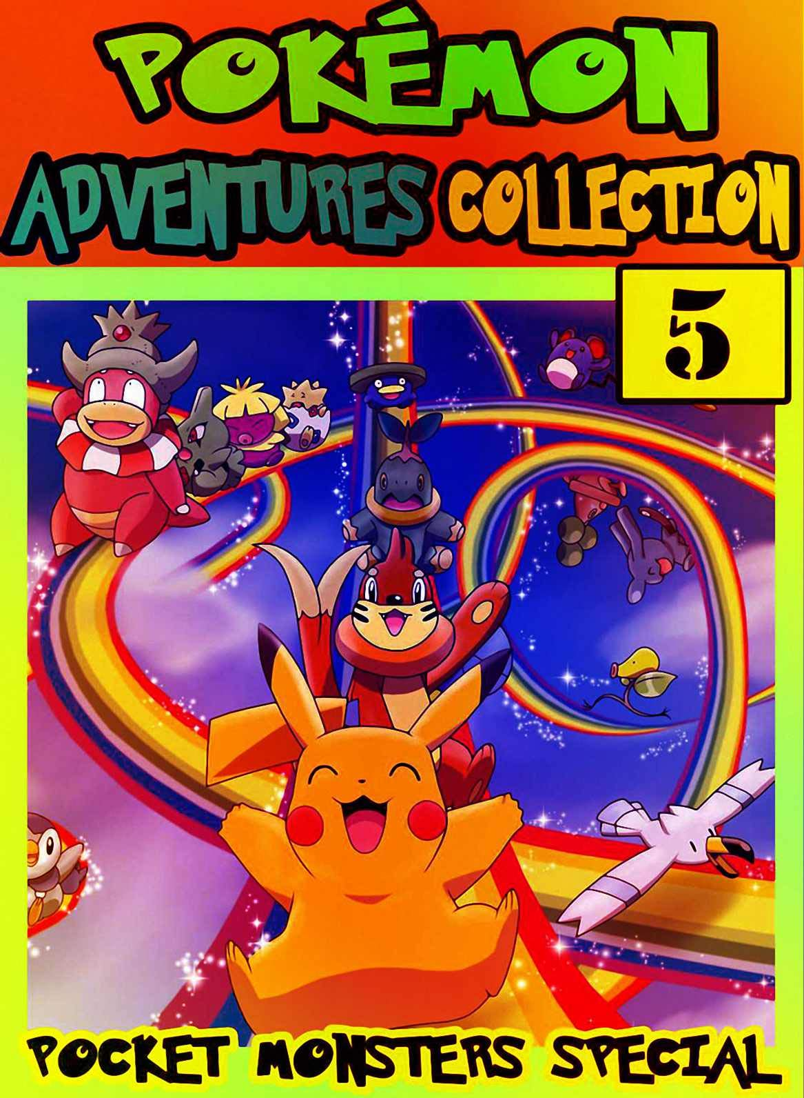 Pocket Special: New Collection 5 - Manga Adventures Pokemon Graphic Novel For Boys, Girls, Kids
