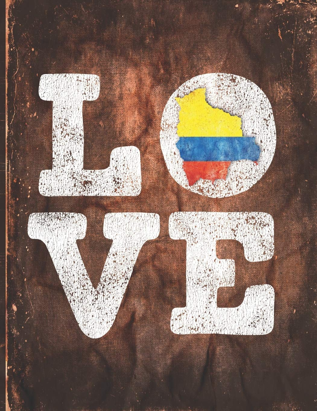 Love: Colombia Flag Cute Personalized Gift for Colombian Friend 2020 Calendar Daily Weekly Monthly Planner Organizer
