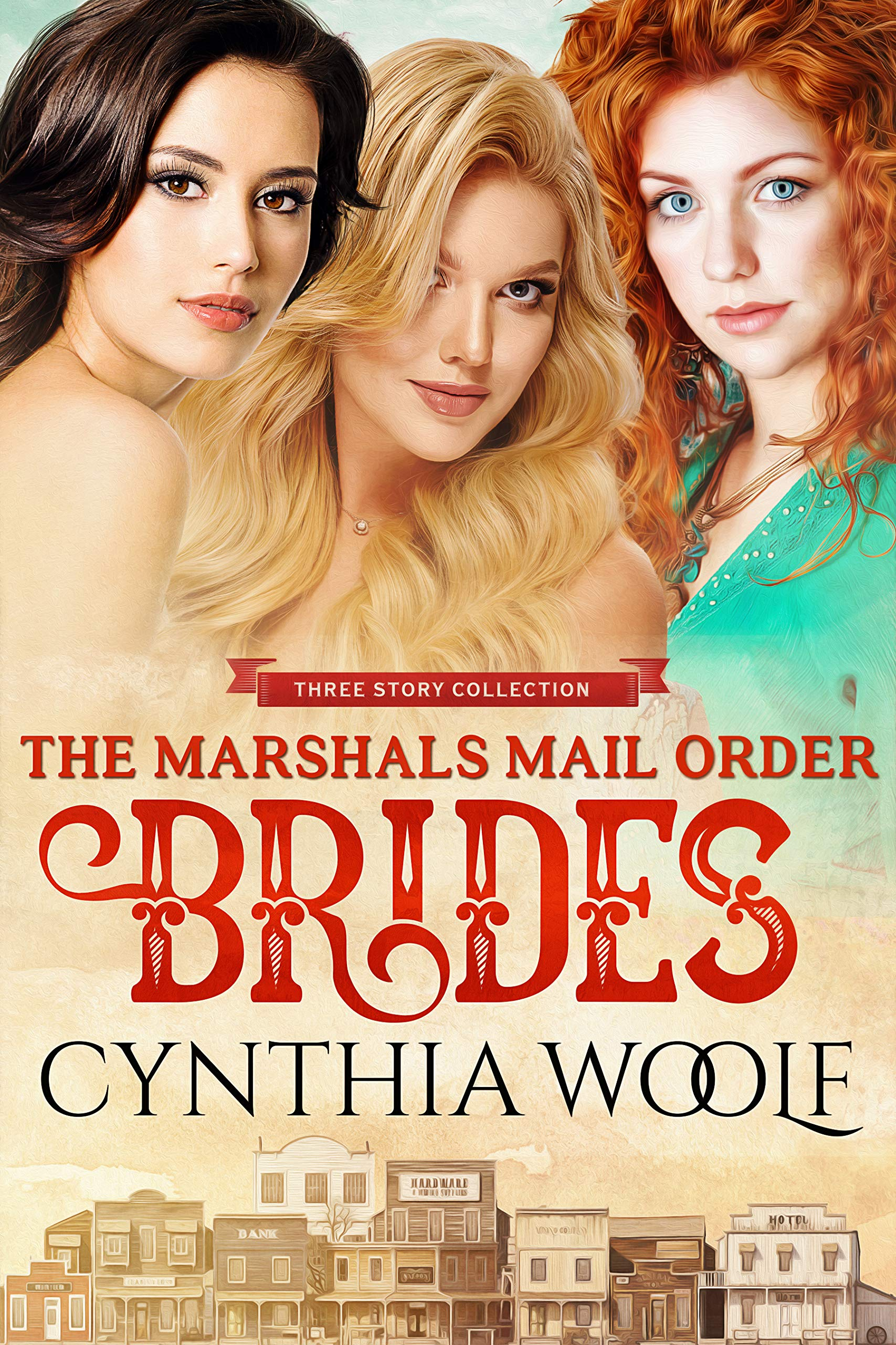 The Marshals Mail Order Brides, Three Story Collection: Historical Western Romance Novel