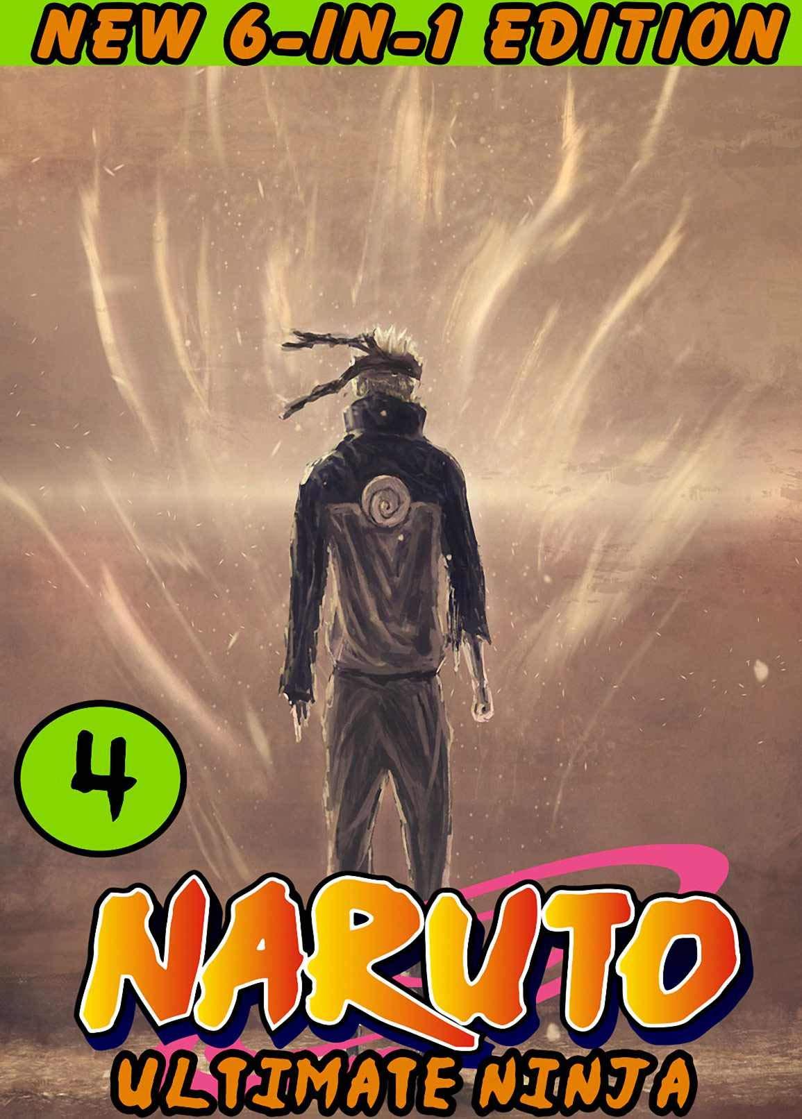 Ultimate NinJa: New 6-in-1 Edition Set 4 - Naruto Ninja Shonen Action Manga Graphic Novel
