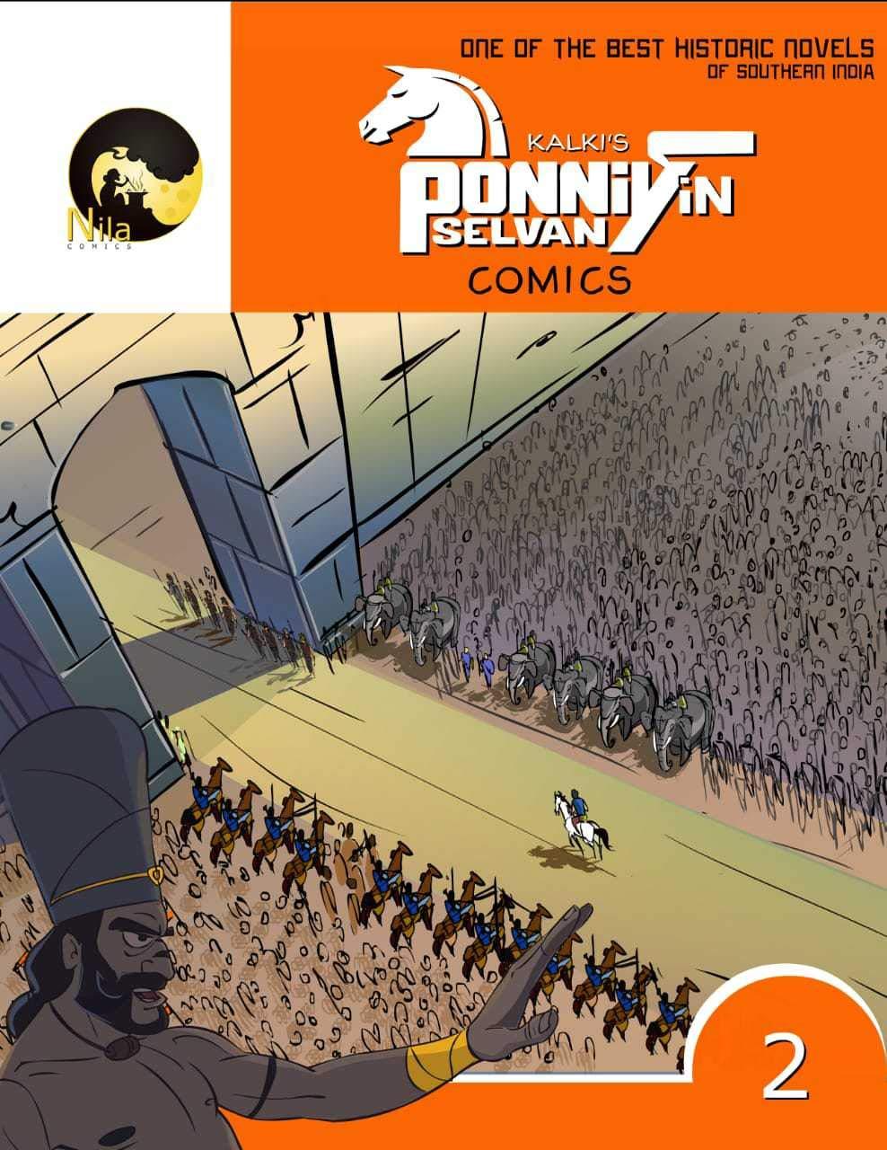 Kalki's Ponniyin Selvan Comics - Volume 2