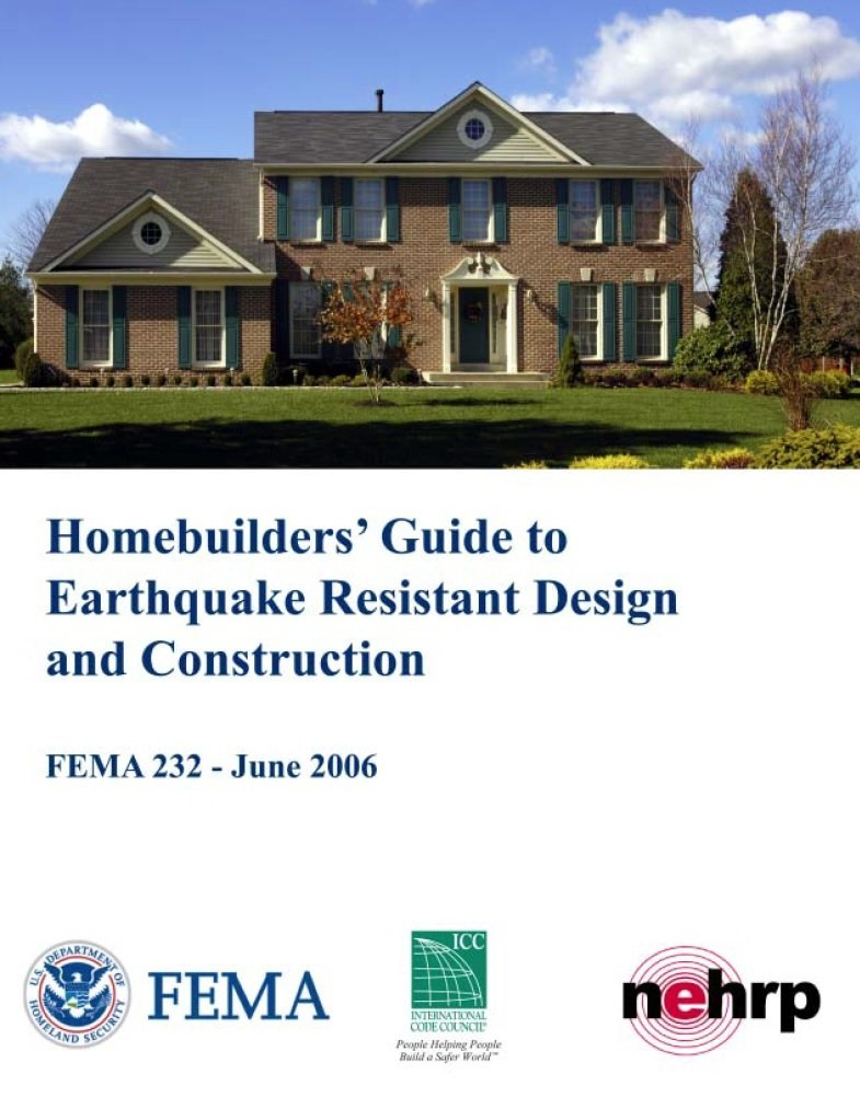 Homebuilder's Guide to Earthquale Resistant Design and Construction
