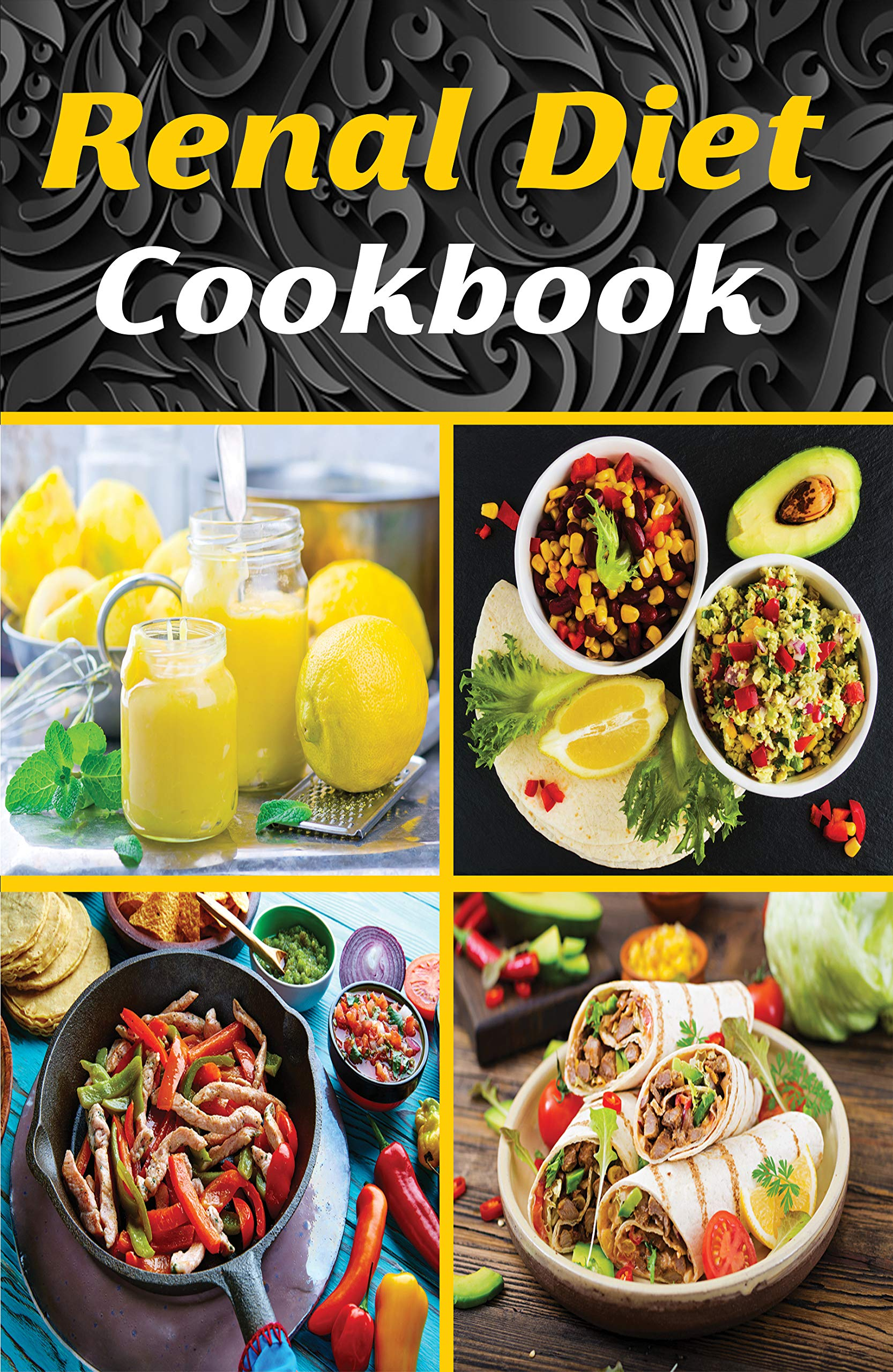 Renal Diet Cookbook: Delicious Recipes With Low Quantities of Sodium, Phosphorus, and Potassium for a Practical and Without Too Much Discomfort (Healthy Foods and Renal Diet).