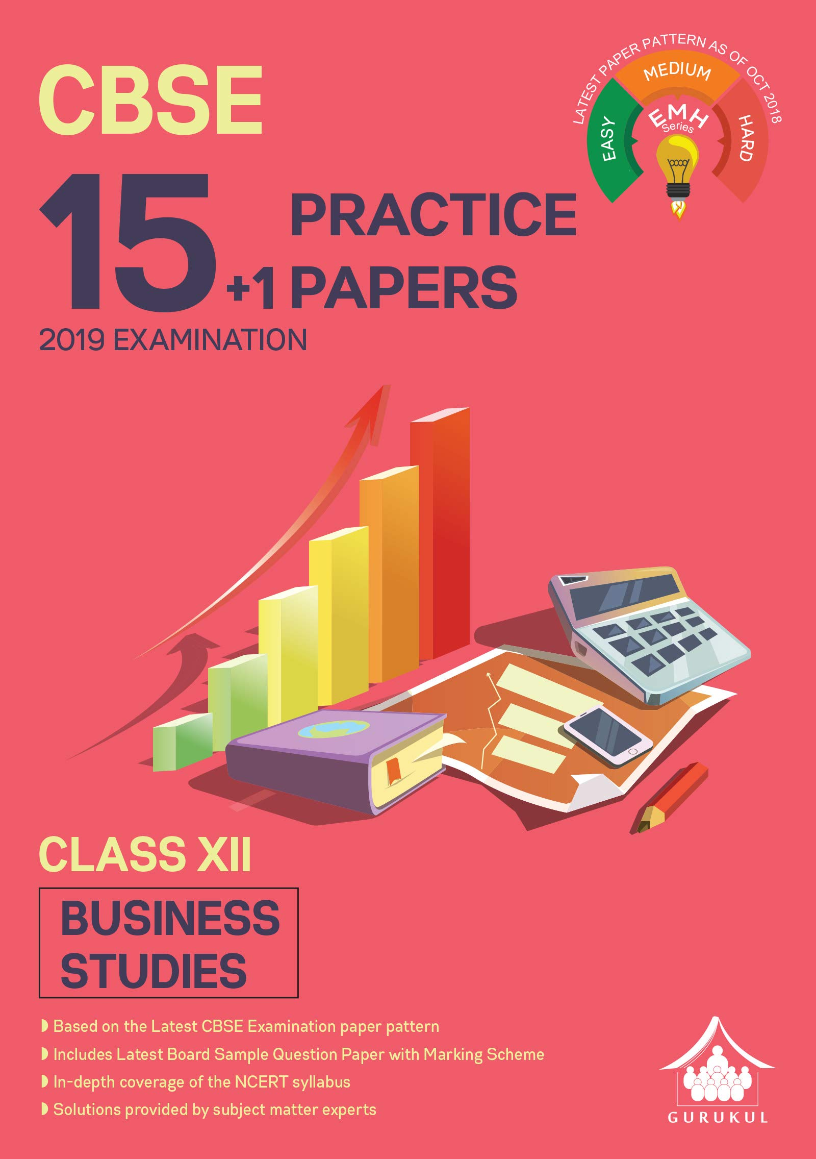 15+1 Practice Papers - Business Studies : CBSE Class 12 for 2019 Examination