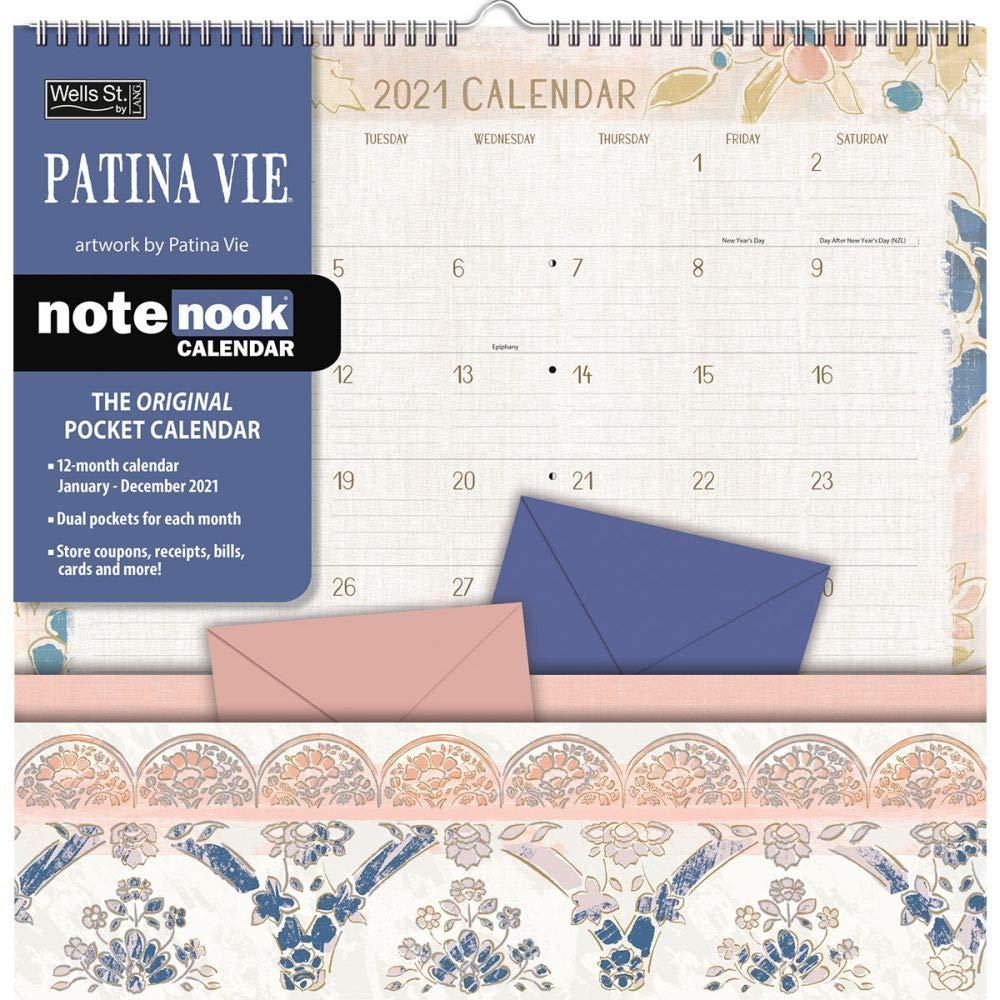Patina Vie 2021 Note Nook Calendar