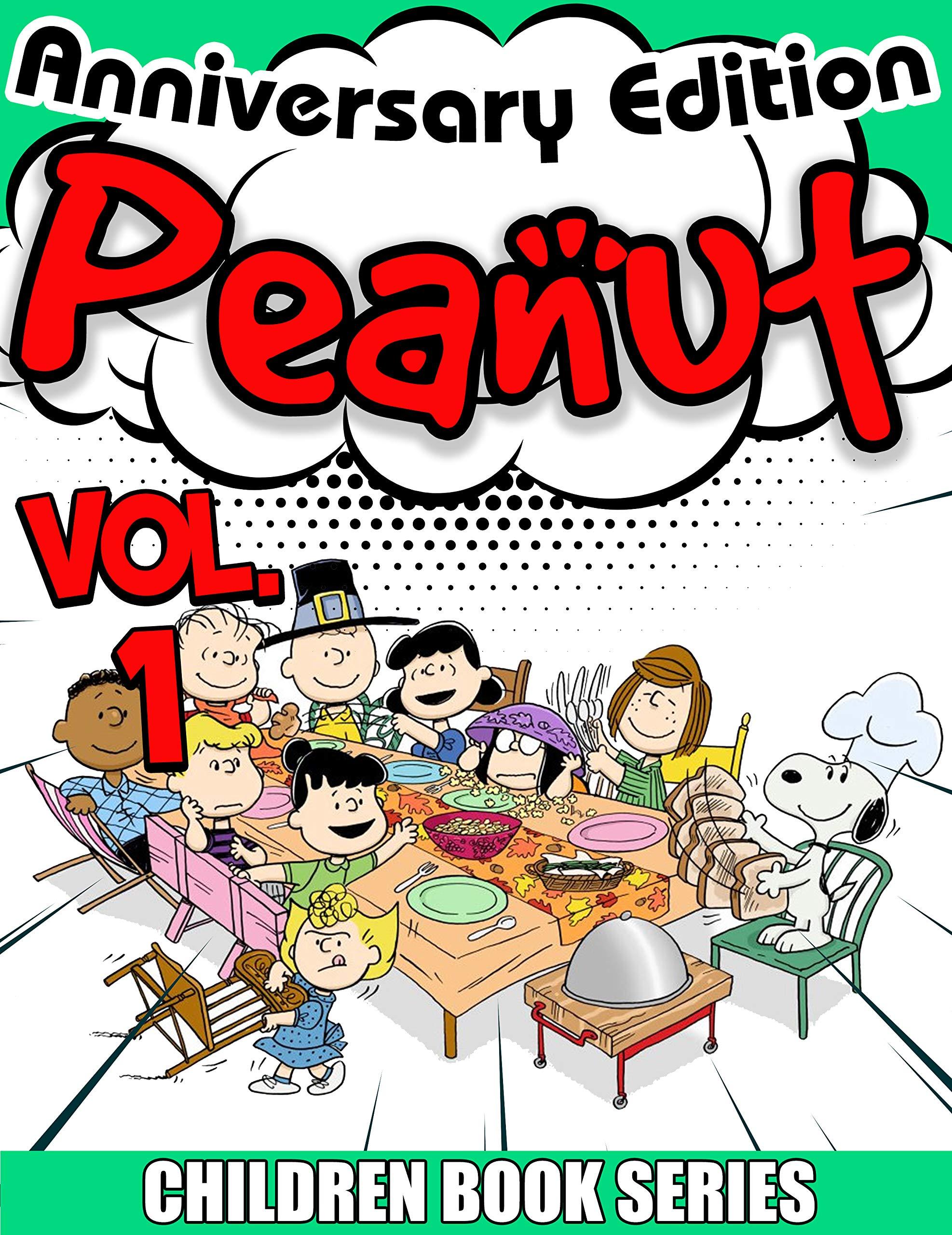 Children book series Peanuts Anniversary Edition: Peanuts Limited Edition Vol 1