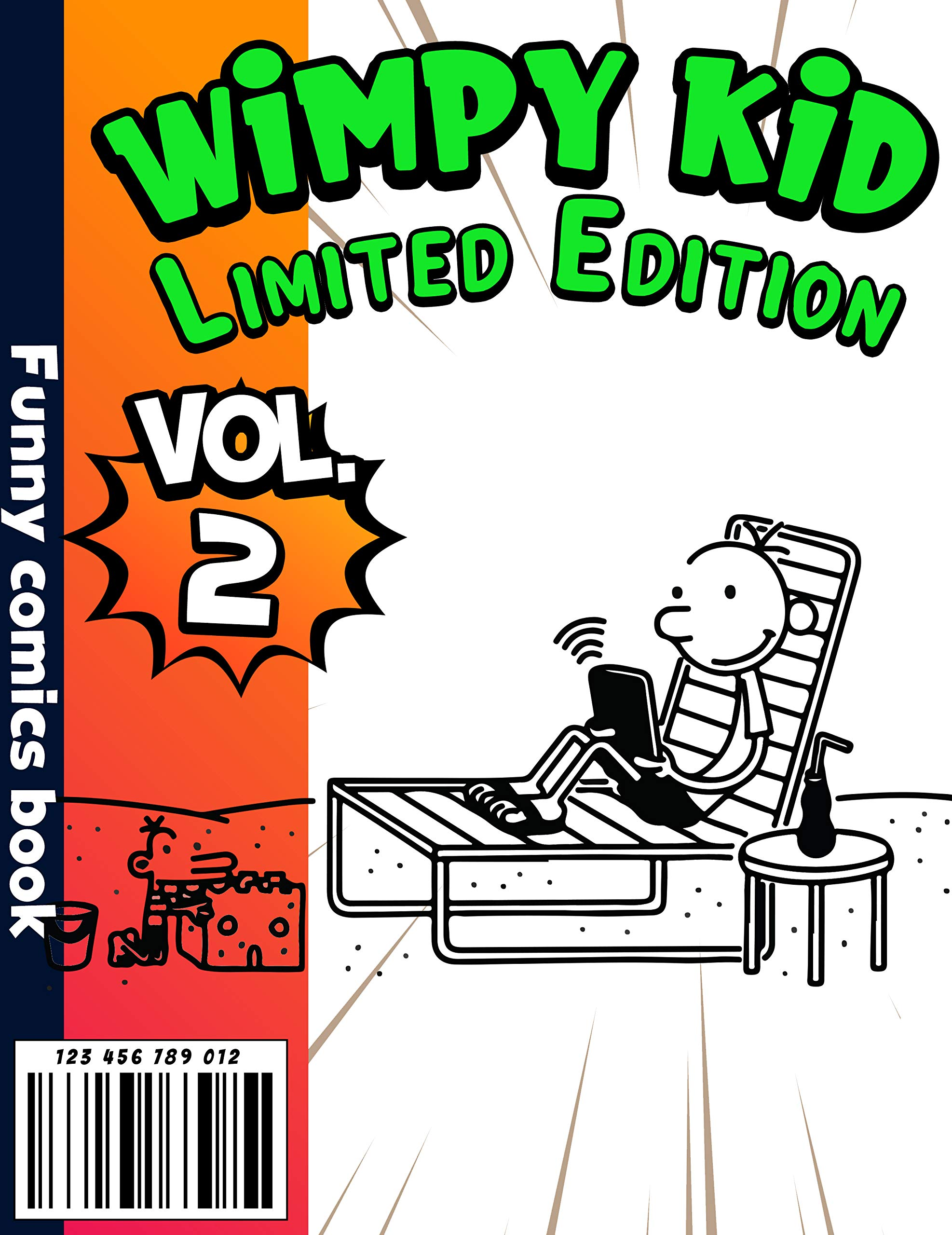 Funny comics book Wimpy kid Limited Edition: Funny Wimpy kid Completed Series Volume 2