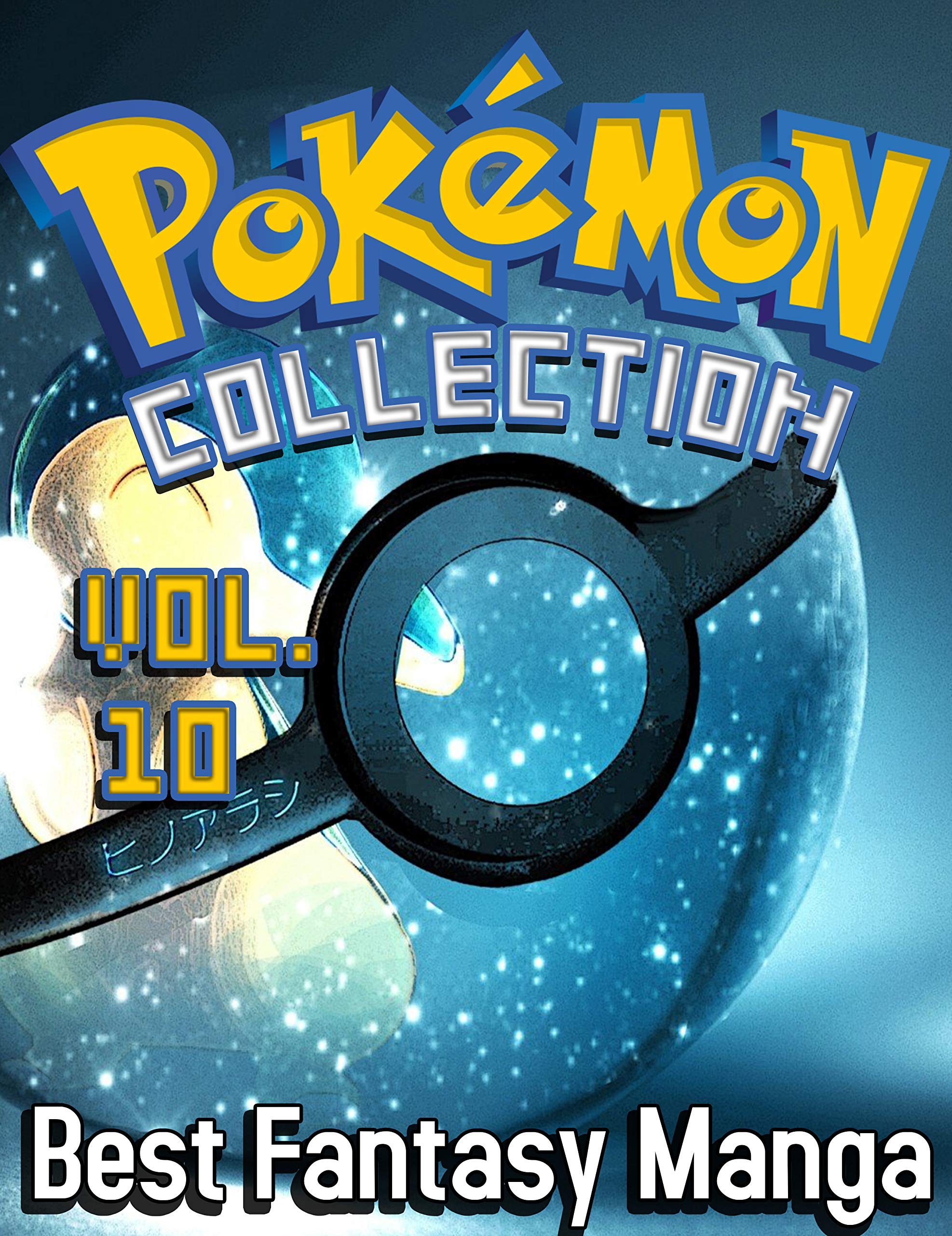 Best Fantasy Manga Pokemon Deluxe Edition: Full Collection Pokemon Vol 10