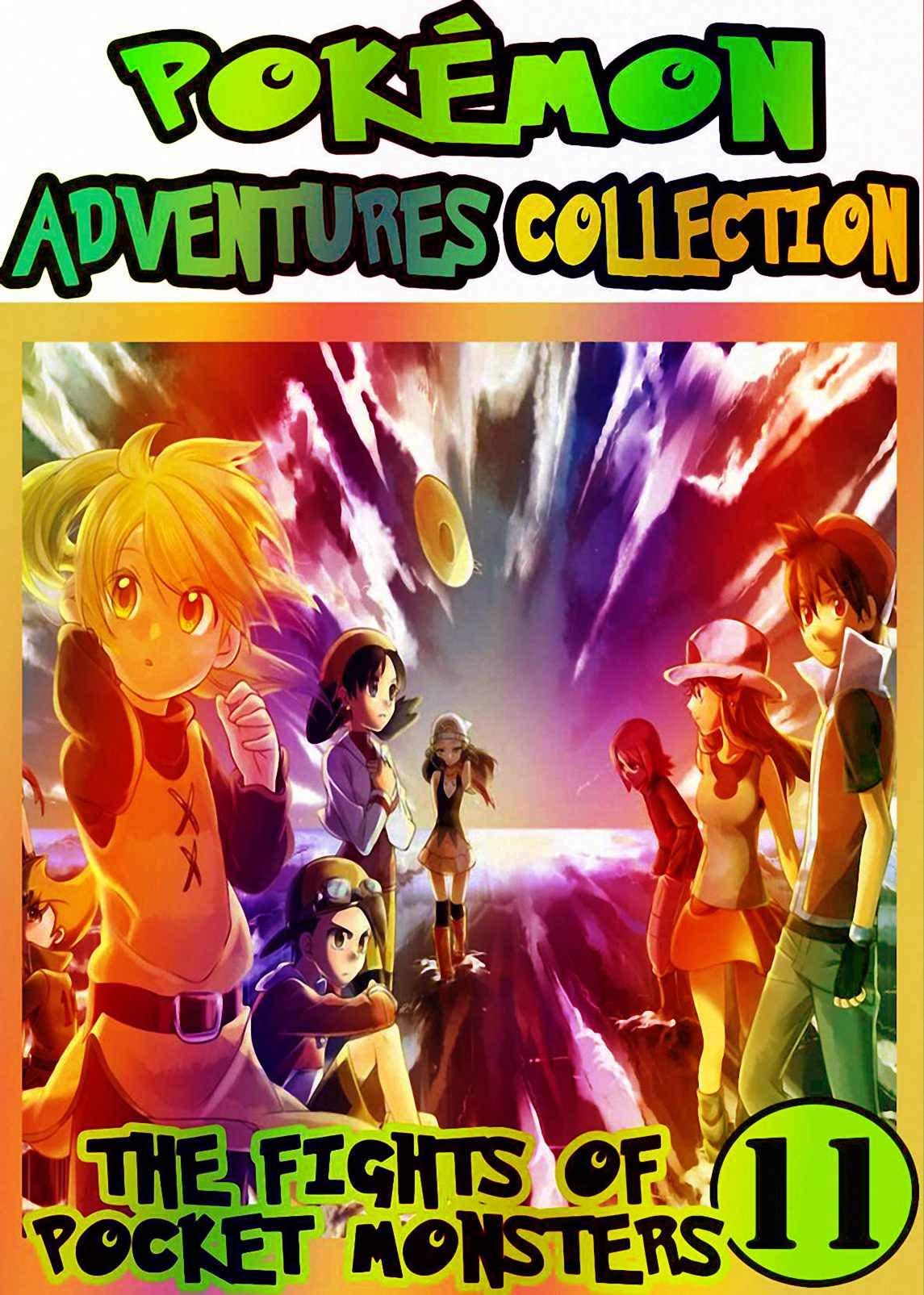 Pocket Adventure: Collection Pack 11 - Pocket Monsters Manga Adventures Pokemon Graphic Novel For Kids, Children
