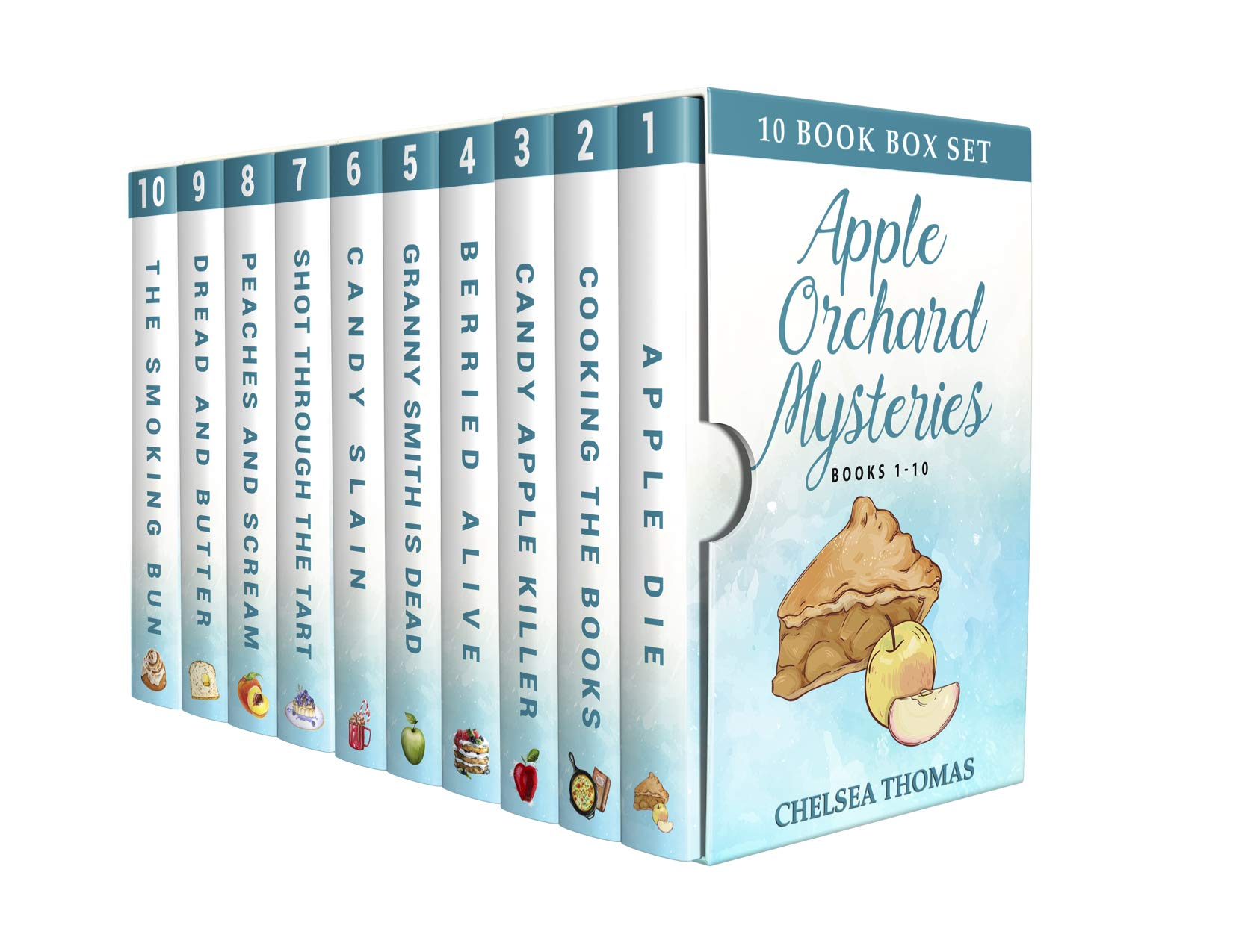 The Apple Orchard Mysteries: All Ten Books