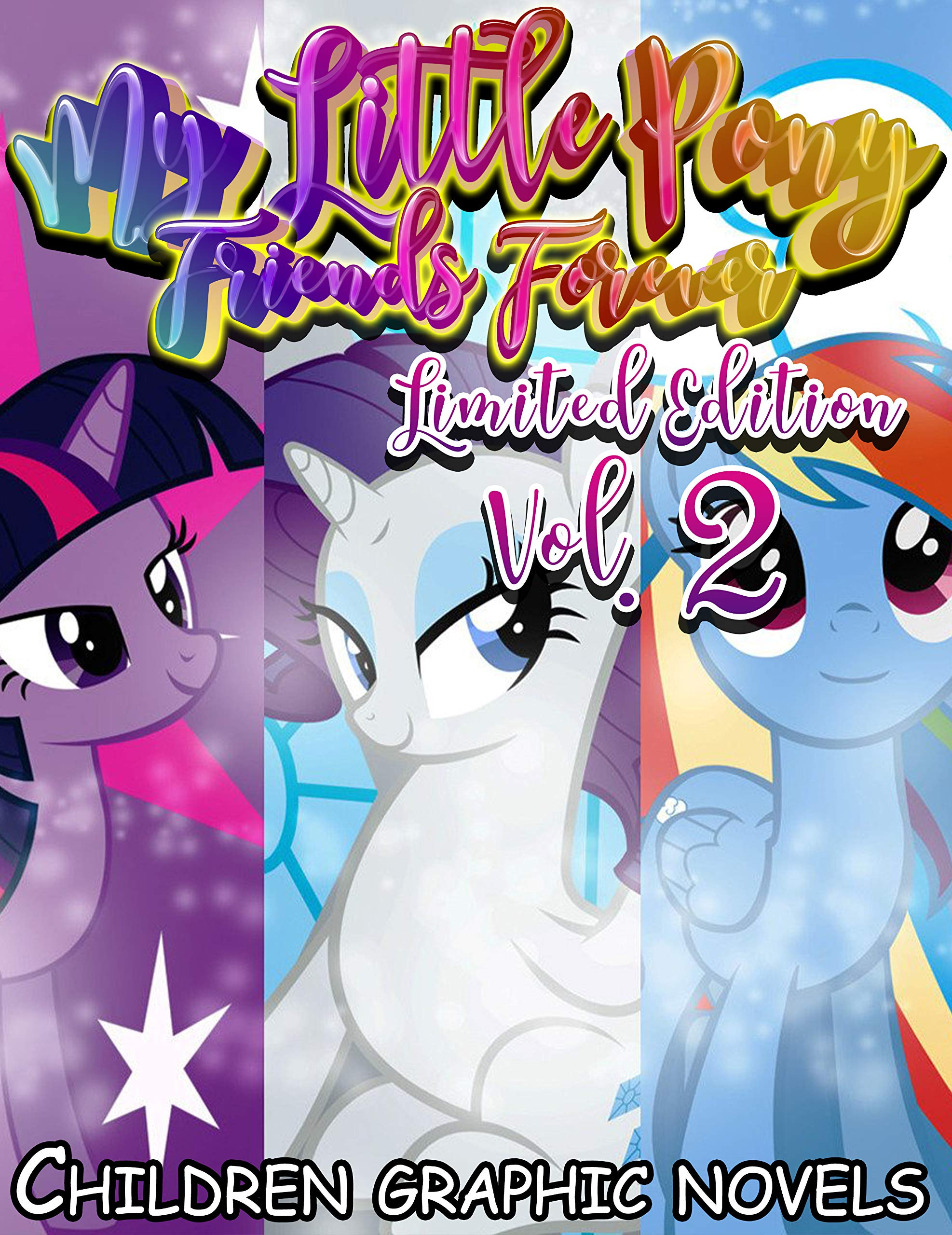 Children graphic novels My Little Pony Friends Forever Limited Edition: Funny My Little Pony Friends Forever Full series Vol 2