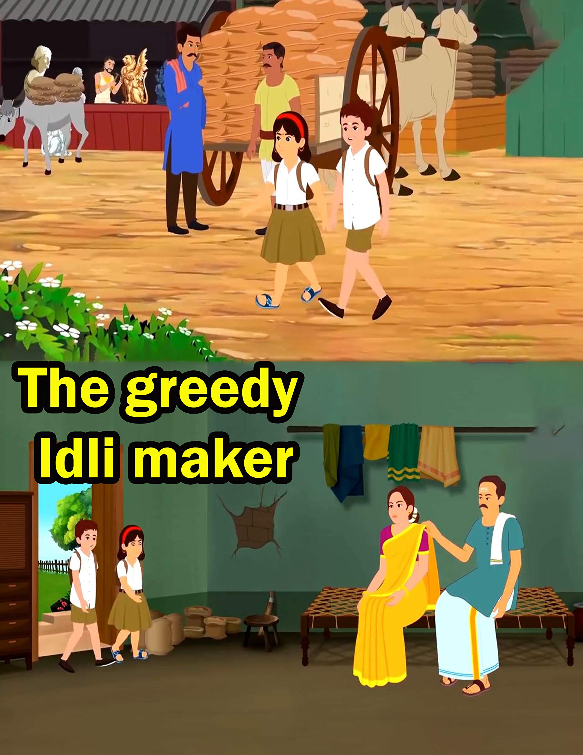 The greedy Idli maker | Bedtime Stories For Kids: Fairy Tales In English