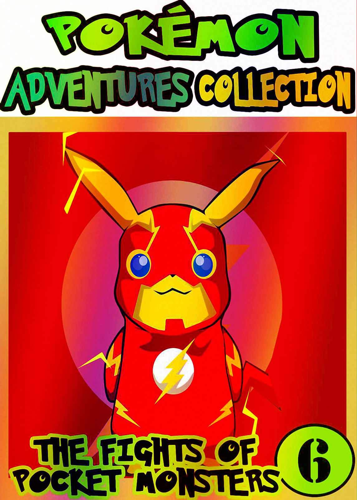 Pocket Adventure: Collection Pack 6 - Pocket Monsters Manga Adventures Pokemon Graphic Novel For Kids, Children